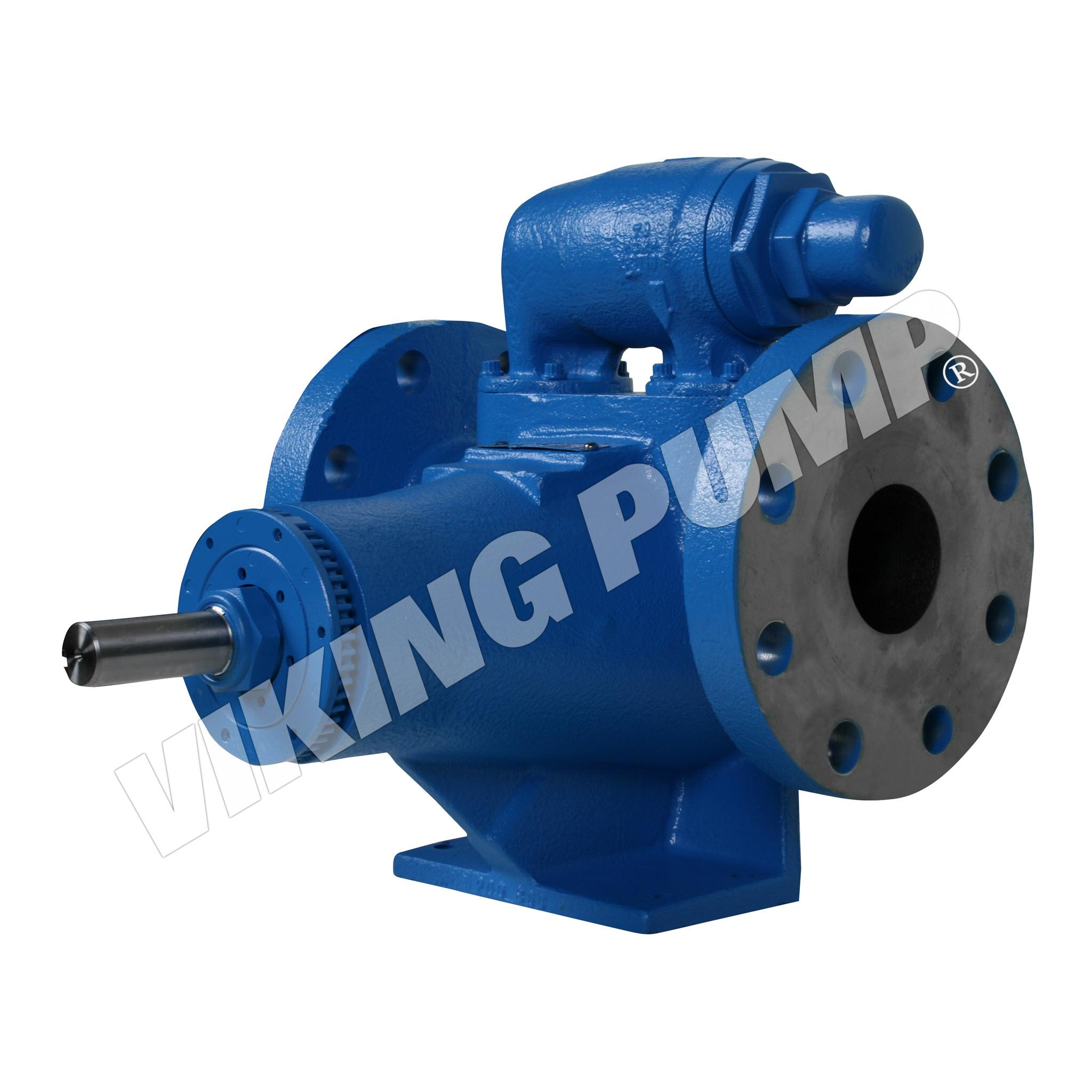 Model AK4197, Foot Mounted, Mechanical Seal, Relief Valve Pump