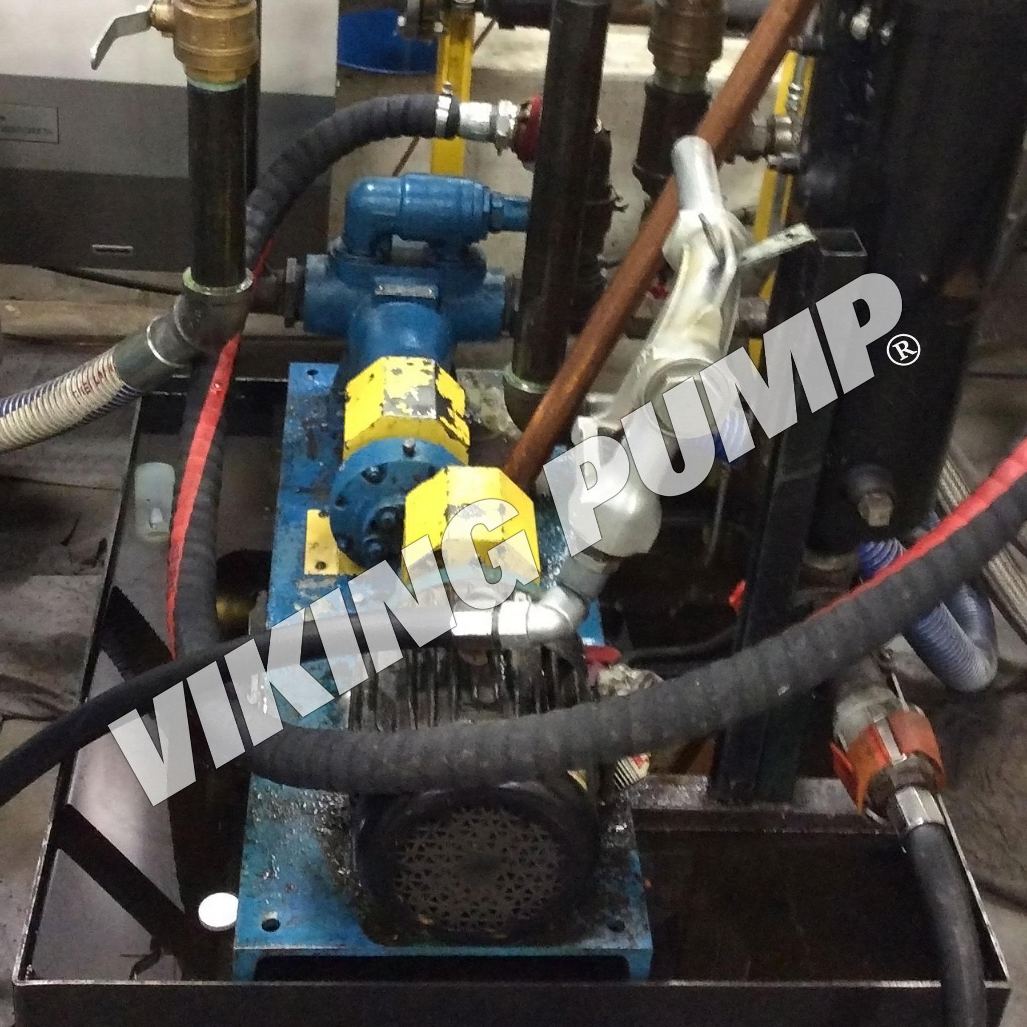 Model AK4195, Pumping Lube Oil