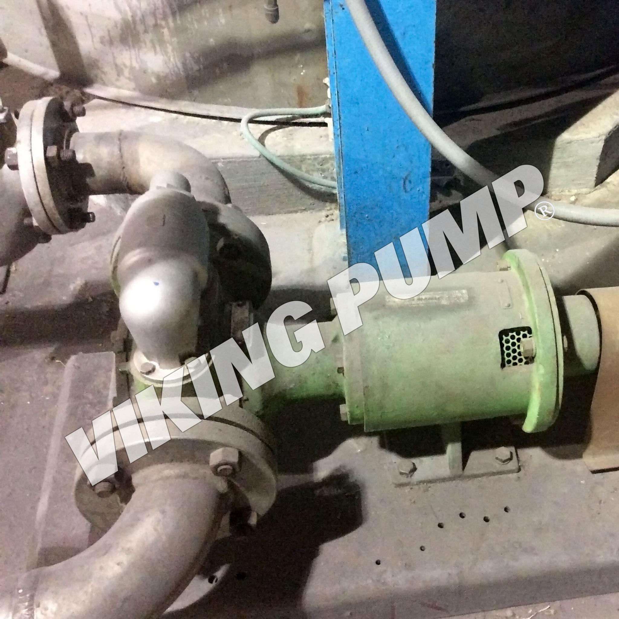 Model AK897, Pumping Resin