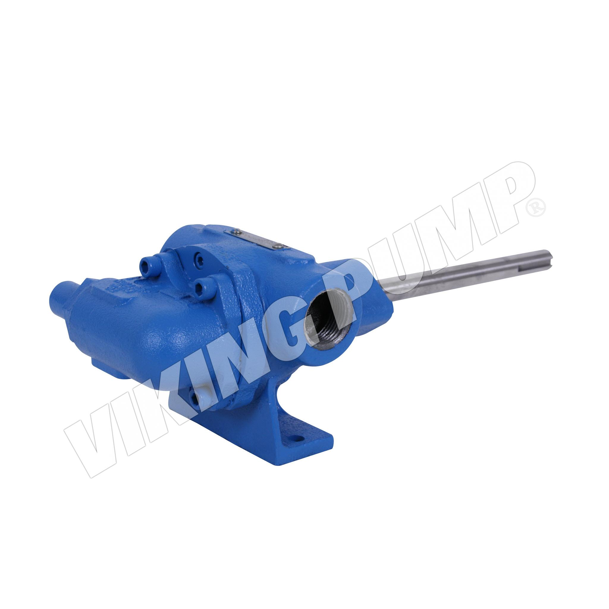 Model G432-X, Foot Mounted, Mechanical Seal, Relief Valve Pump