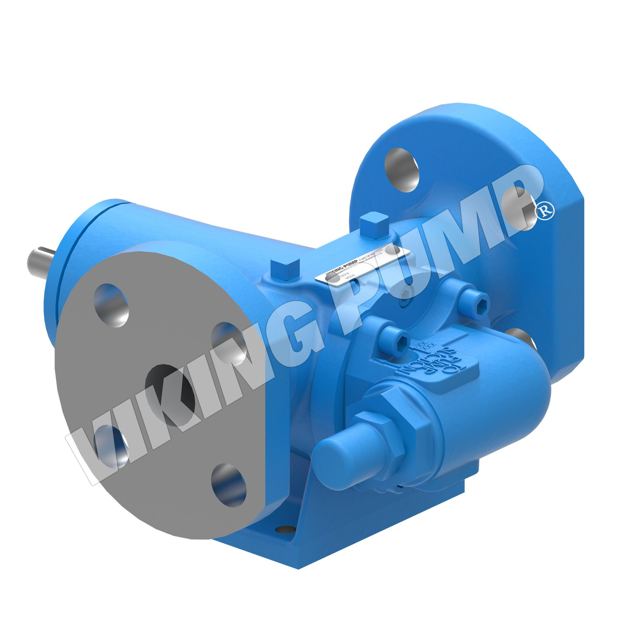 Model GG4197, Foot-Mounted, Mechanical Seal, Relief Valve Pump