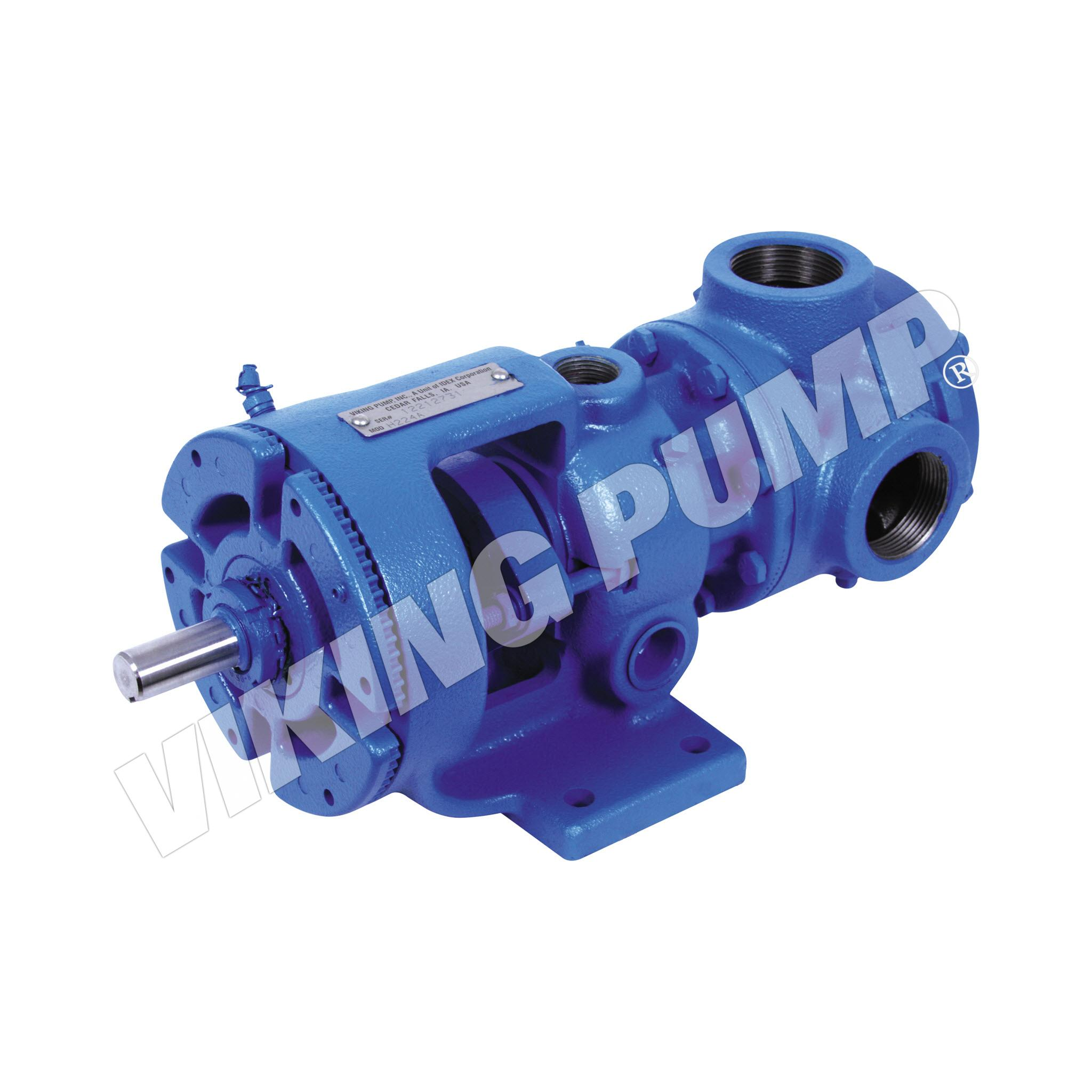Model H226A, Foot Mounted, Packed Gland, less Relief Valve Pump