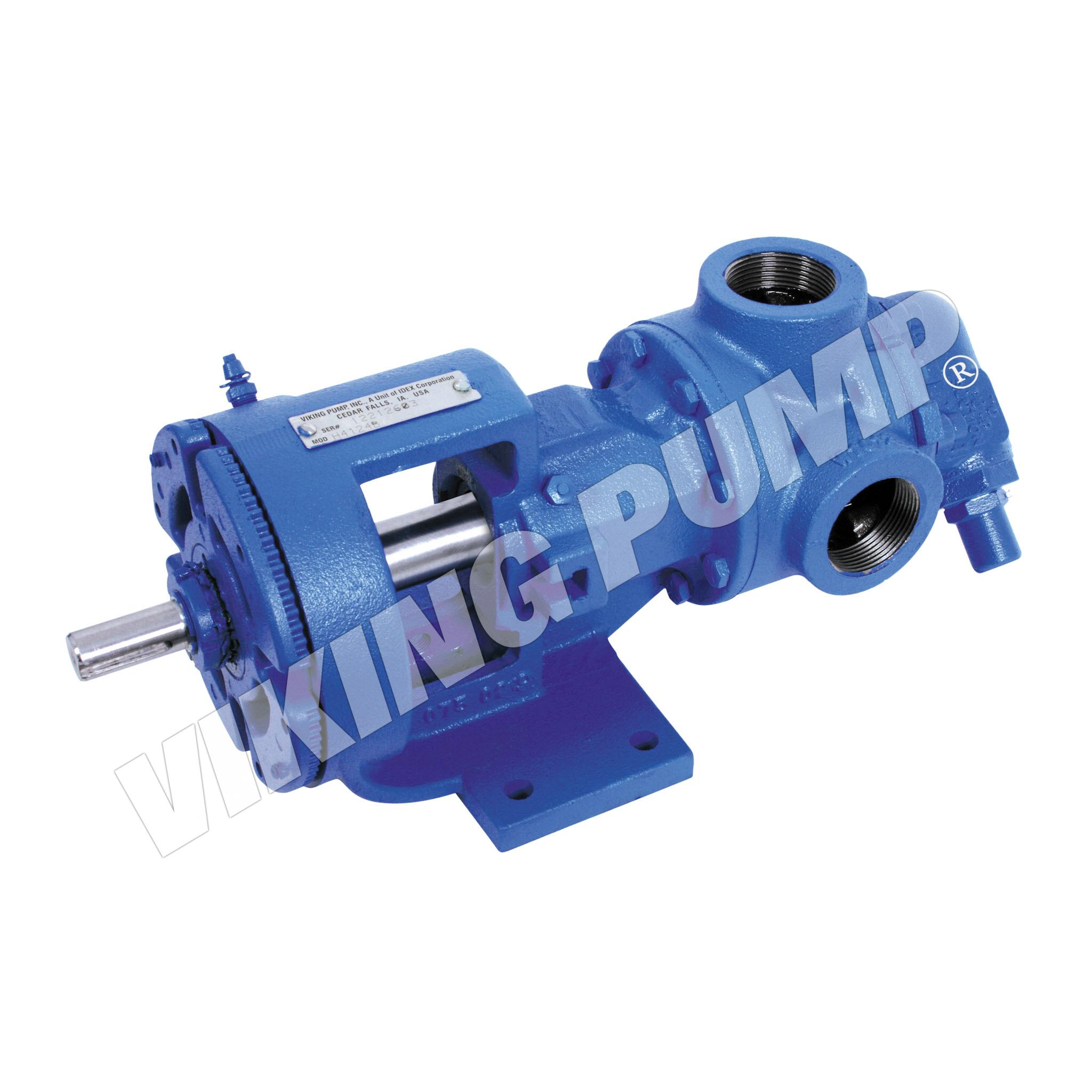 Model H4124B, Foot Mounted, Mechanical Seal, Relief Valve Pump