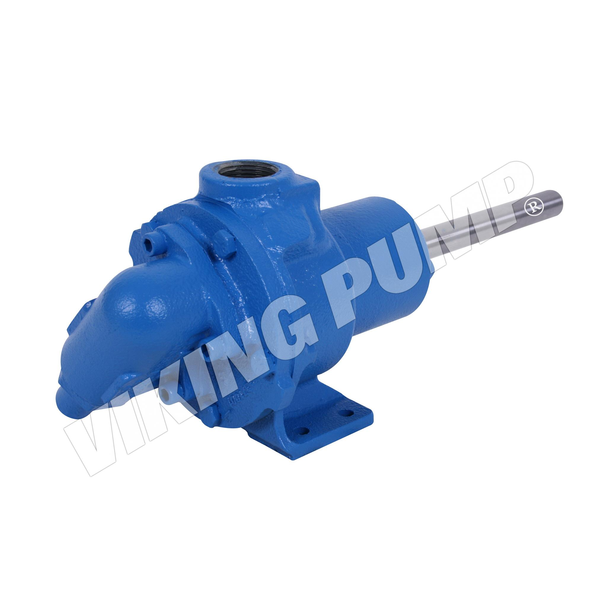 Model H432-X, Foot Mounted, Mechanical Seal, Relief Valve Pump