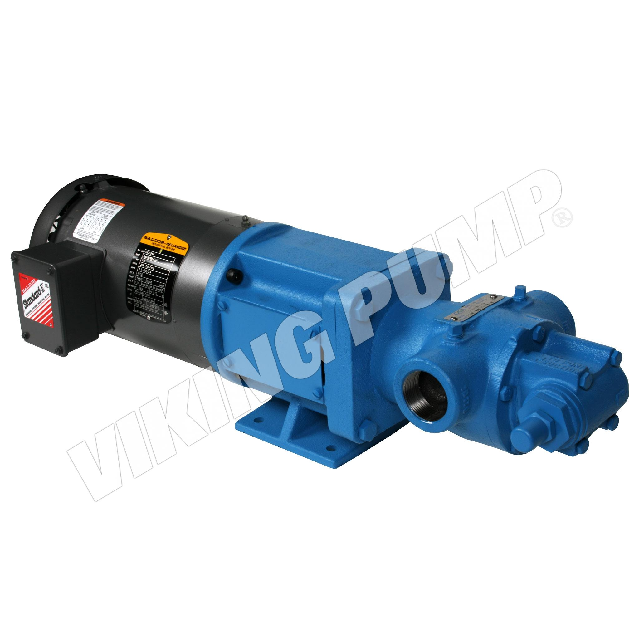 Model H495, Mechanical Seal, Relief Valve, M Drive Pump Unit