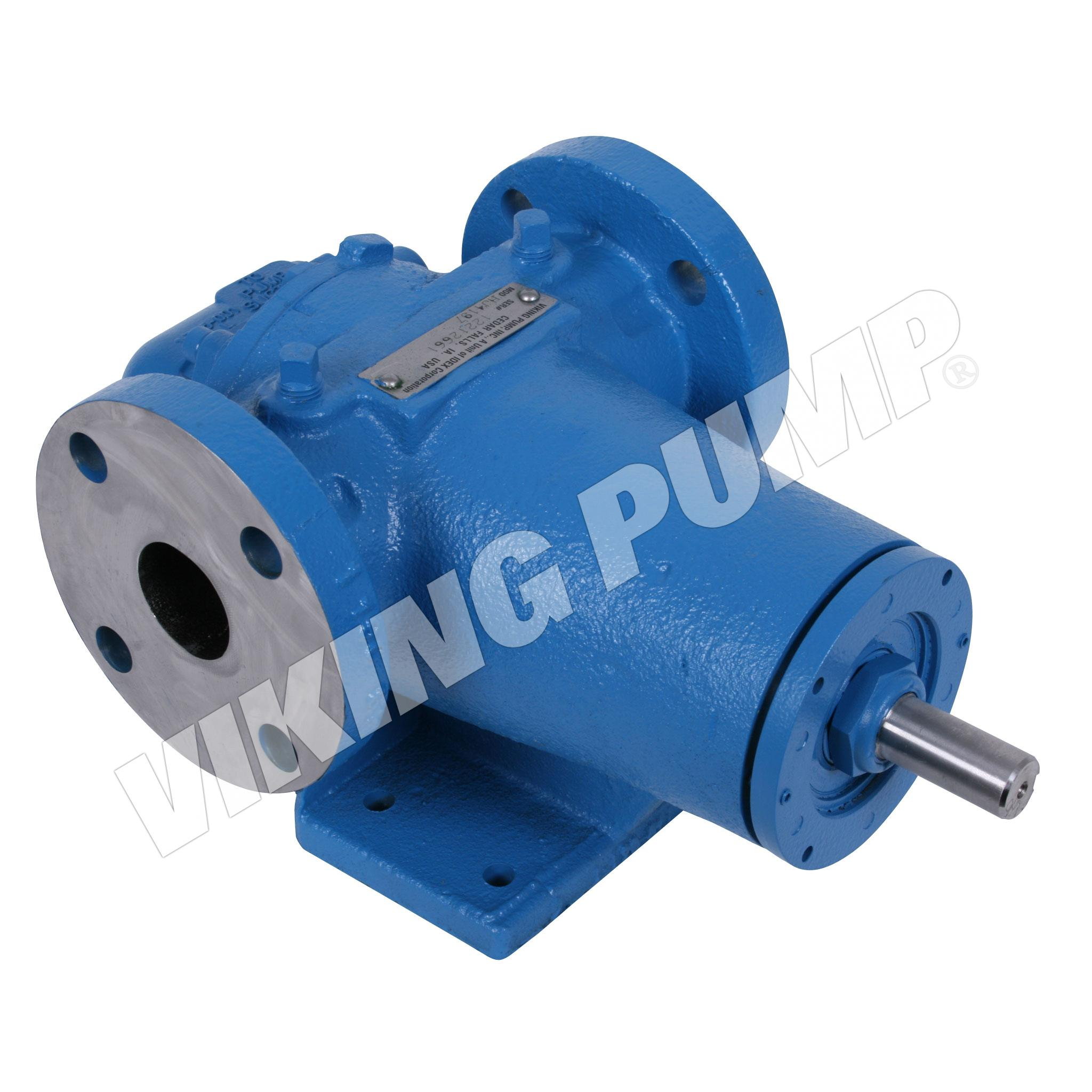 Model HJ4197, Foot Mounted, Mechanical Seal, Relief Valve Pump