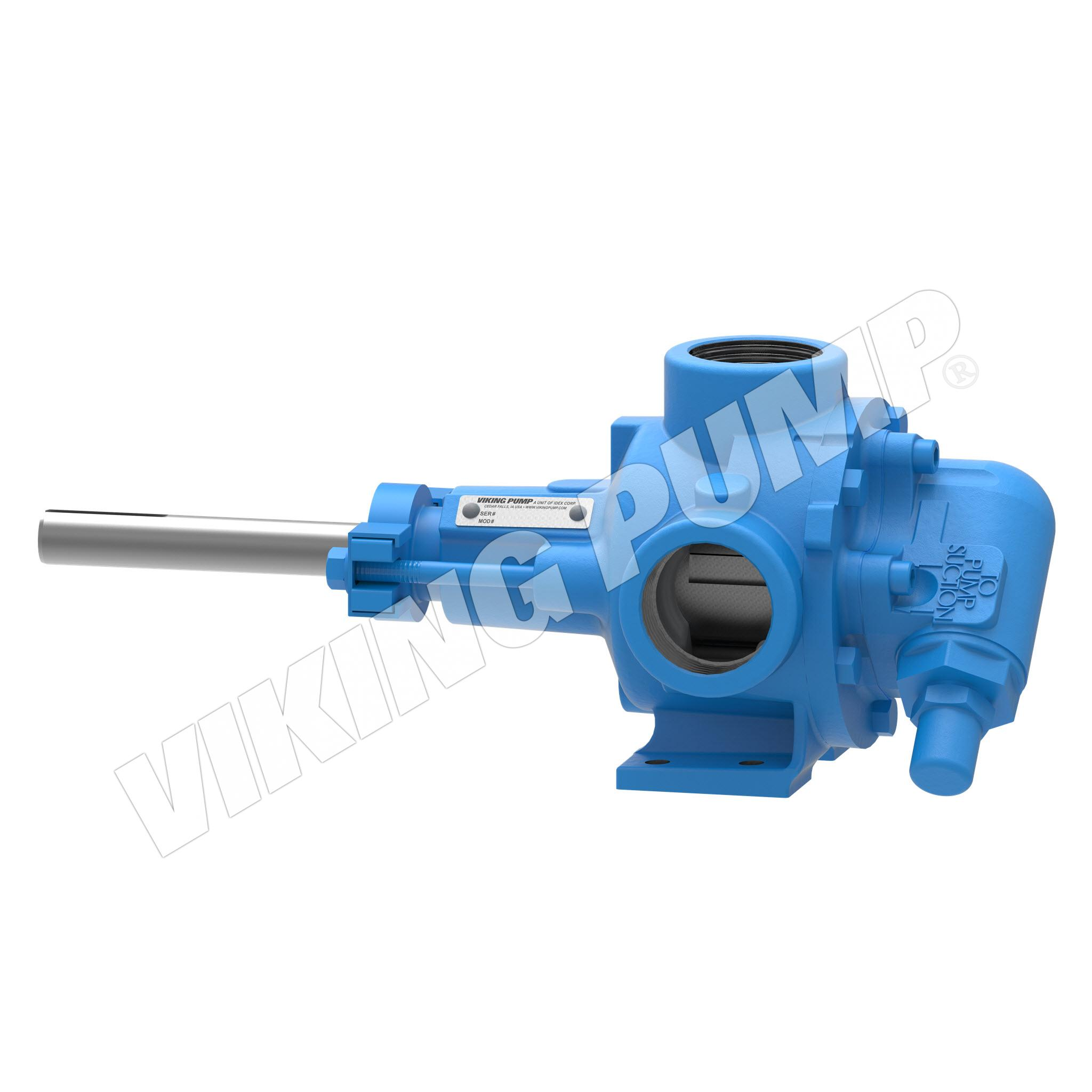 Model HL32, Foot-Mounted, Packed Gland, Relief Valve Pump