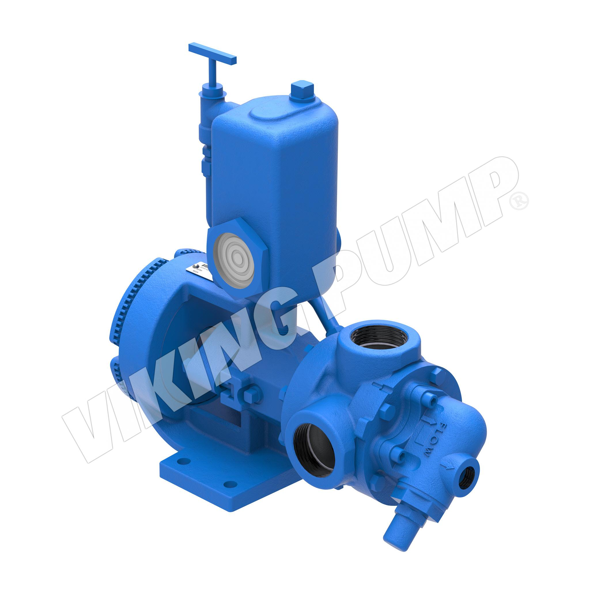 Model HL4924A, Double Seal with Reservoir, Relief Valve Pump