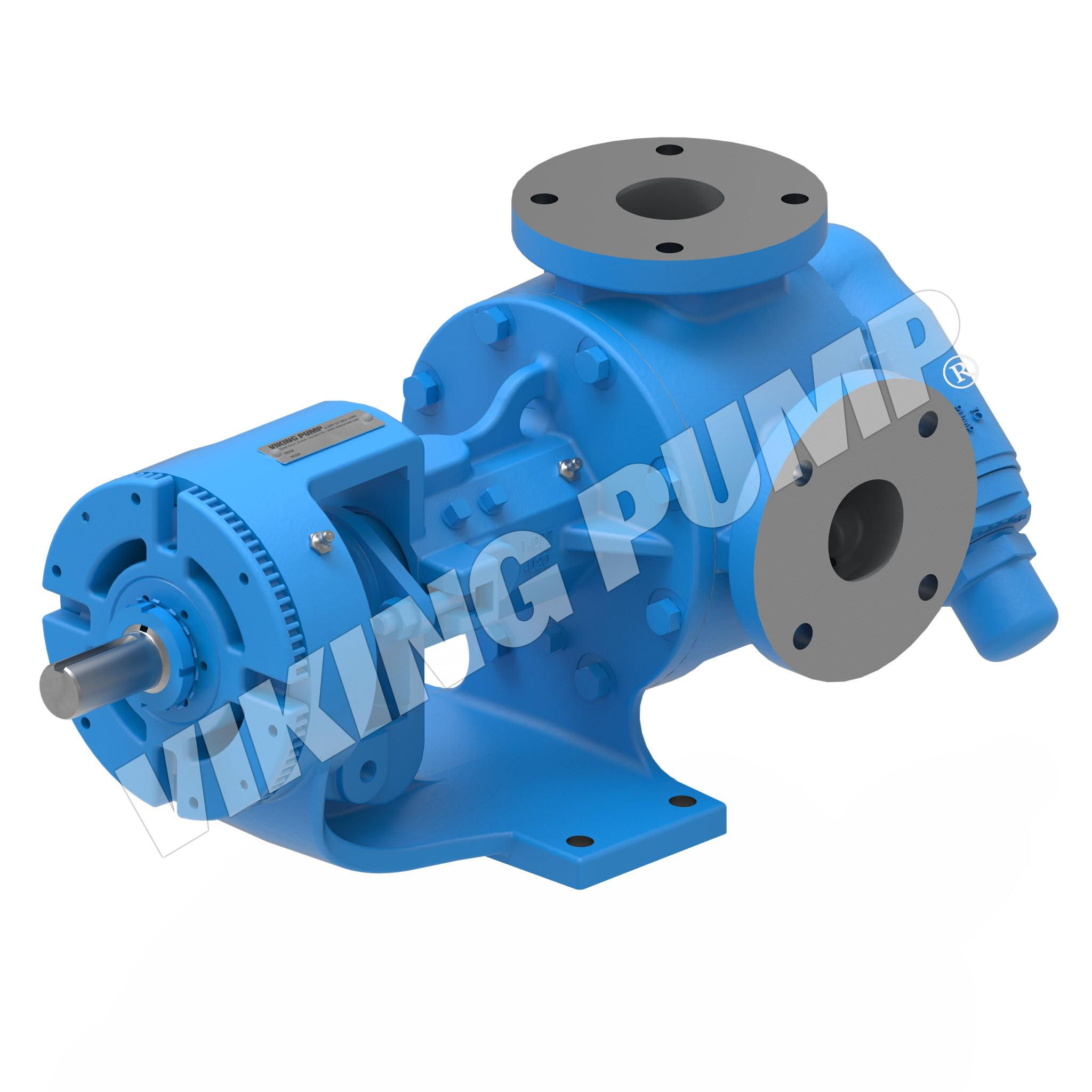 Model K127A, Foot Mounted, Packed Gland, Relief Valve Pump