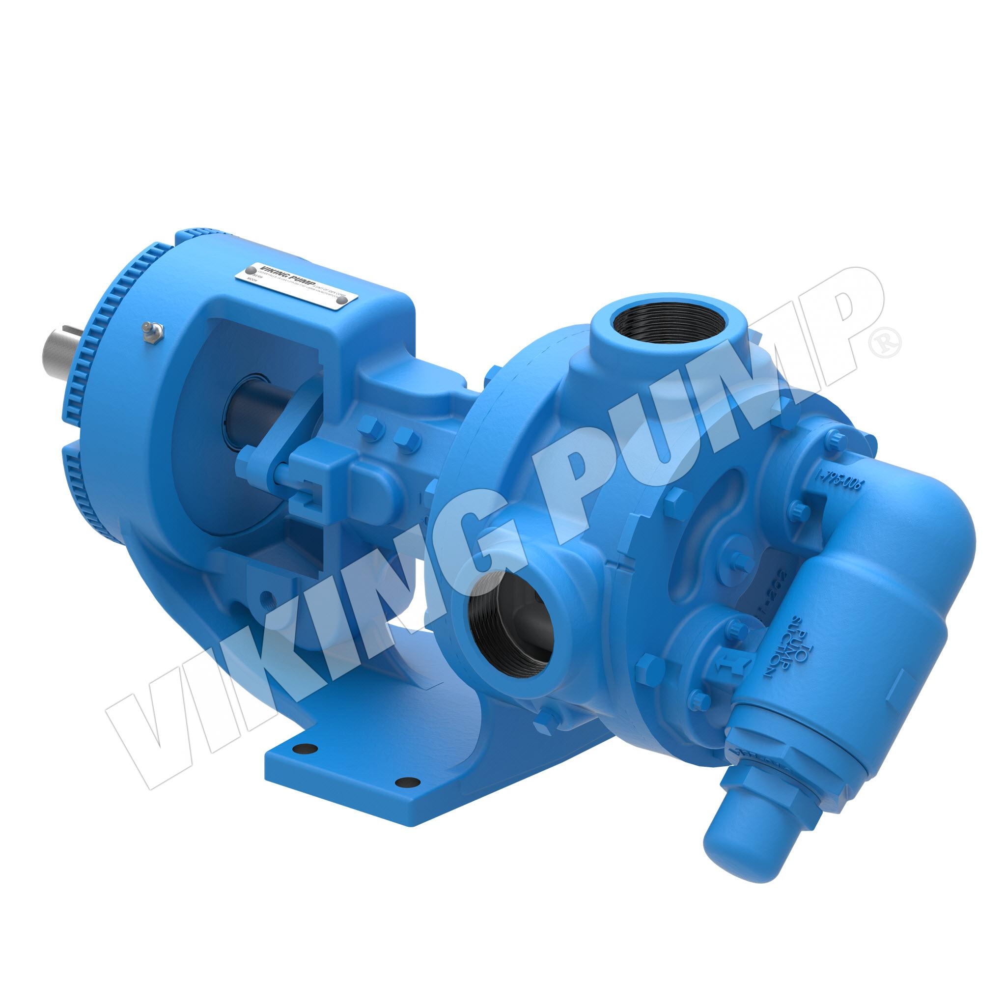 Model K4124AE, Foot Mounted, Mechanical Seal, Relief Valve Pump
