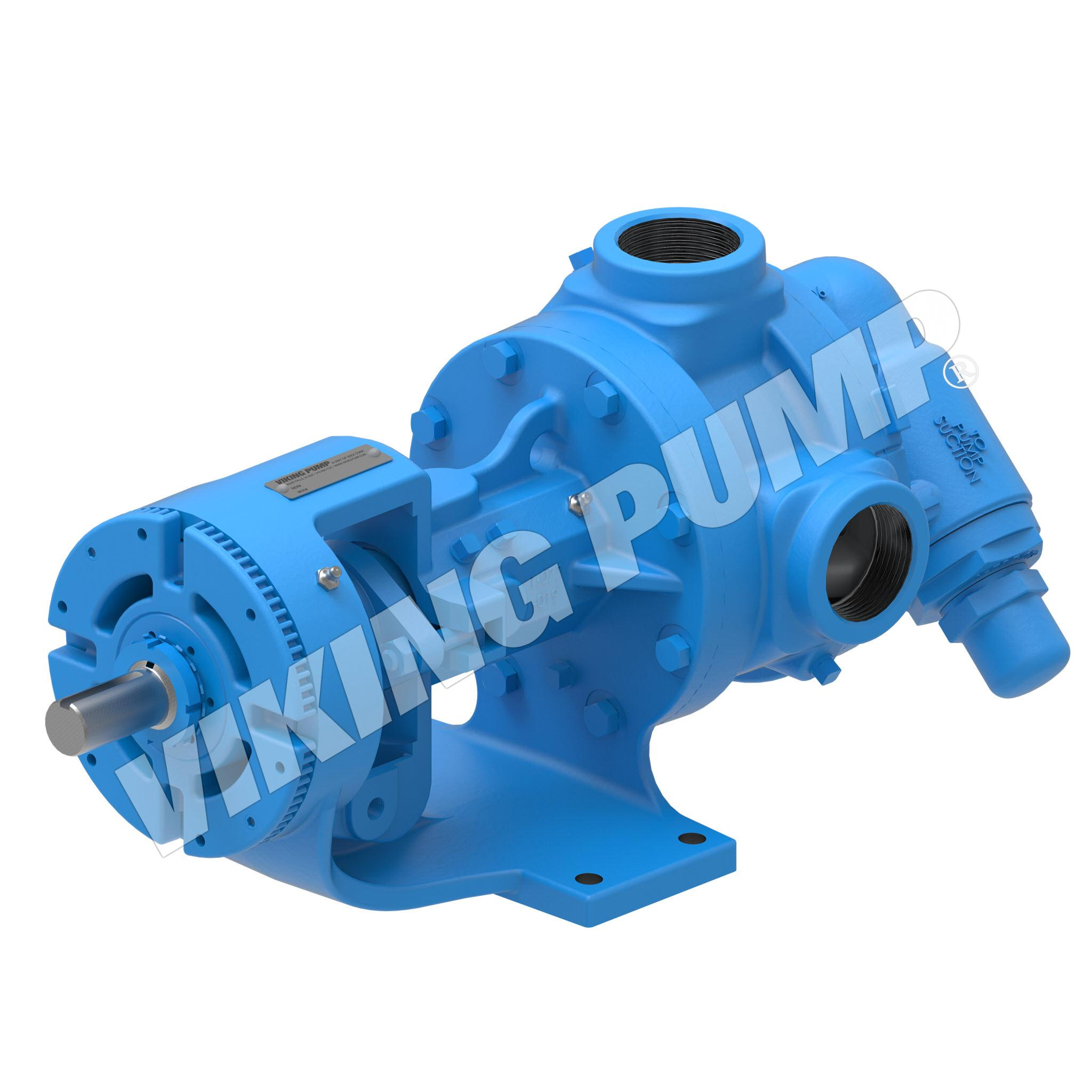 Model K4126A, Foot Mounted, Mechanical Seal, Relief Valve Pump