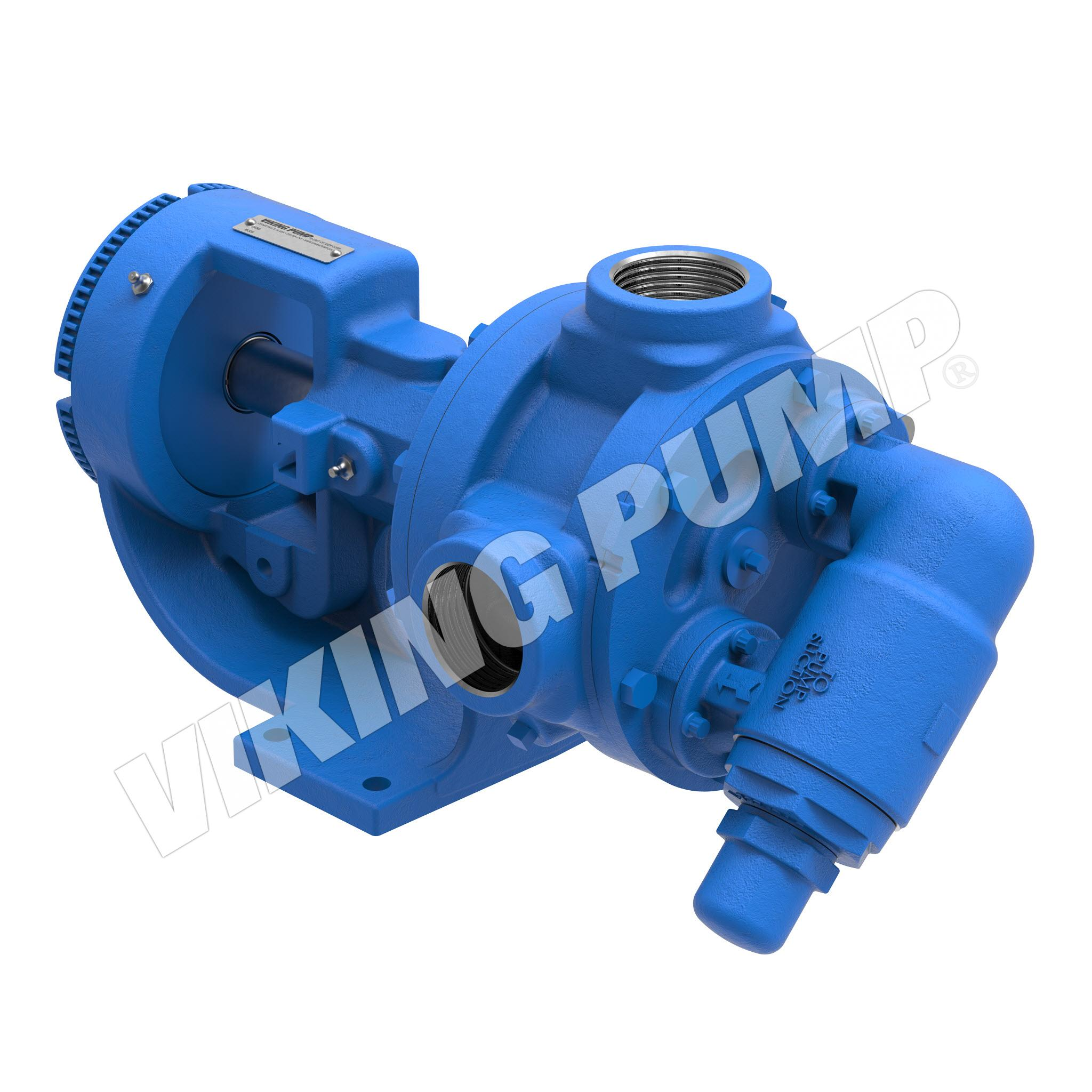 Model K4124B, Foot Mounted, Mechanical Seal, Relief Valve Pump