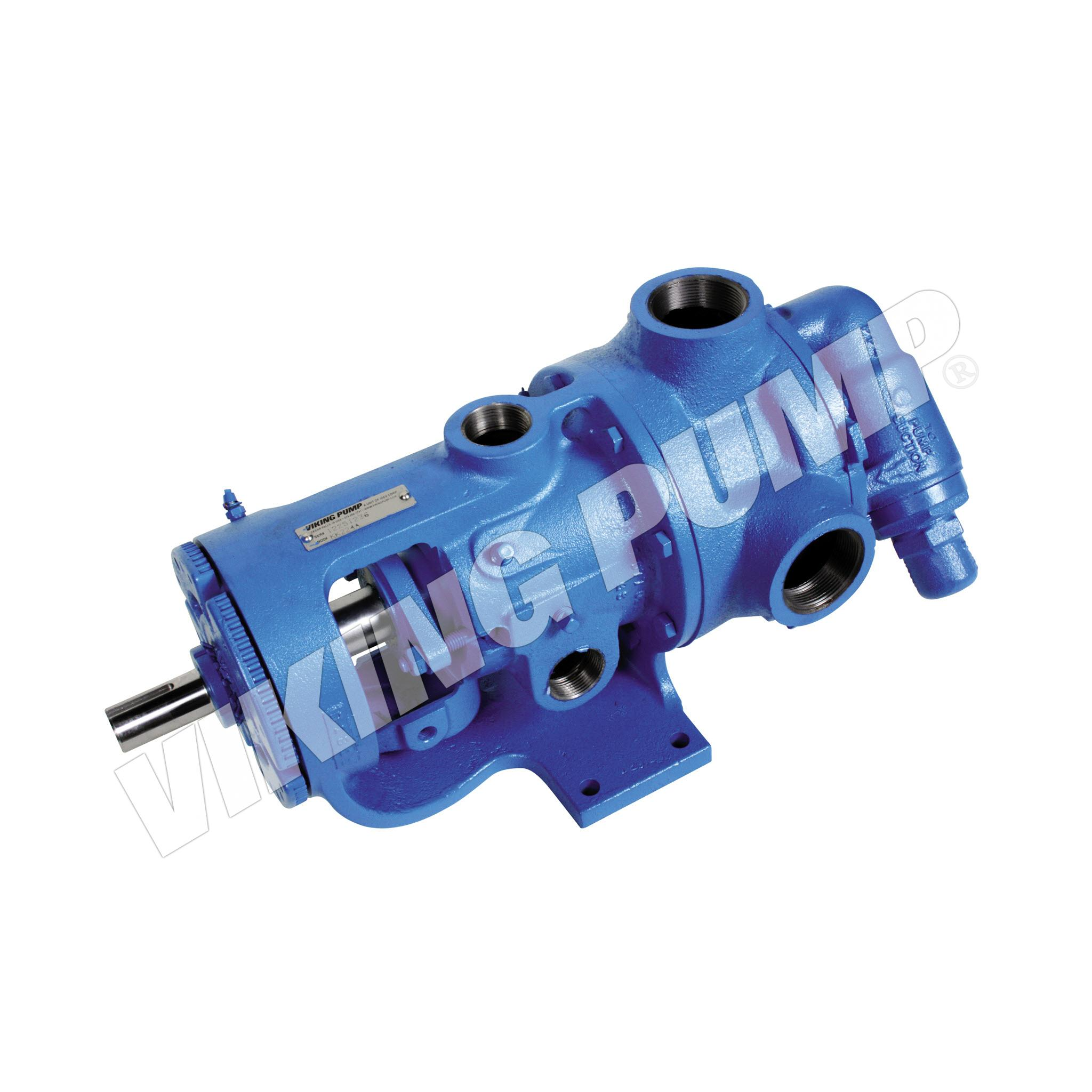 Model KK224A, Foot Mounted, Packed Gland, Relief Valve Pump