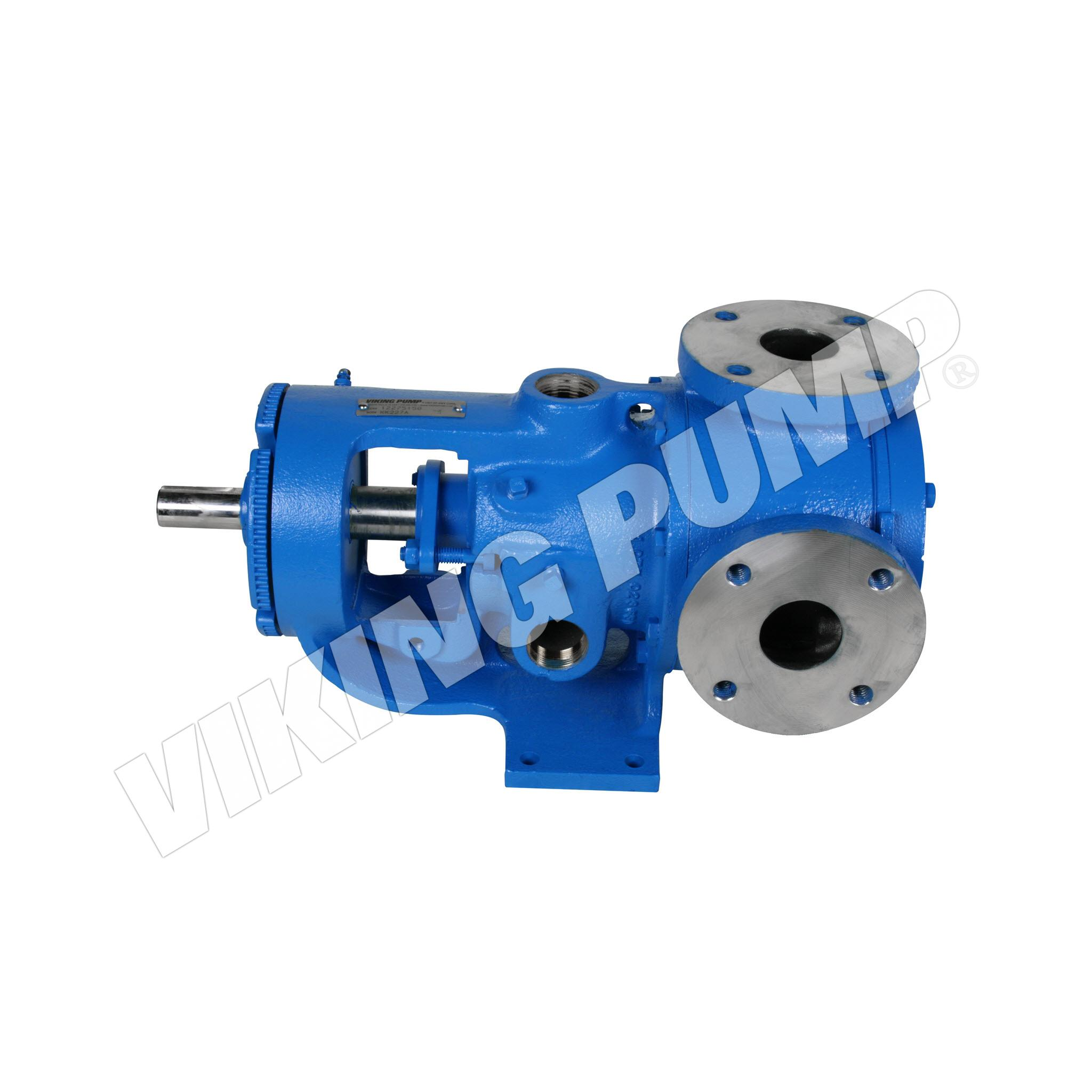Model KK227A, Foot Mounted, Packed Gland, less Relief Valve Pump