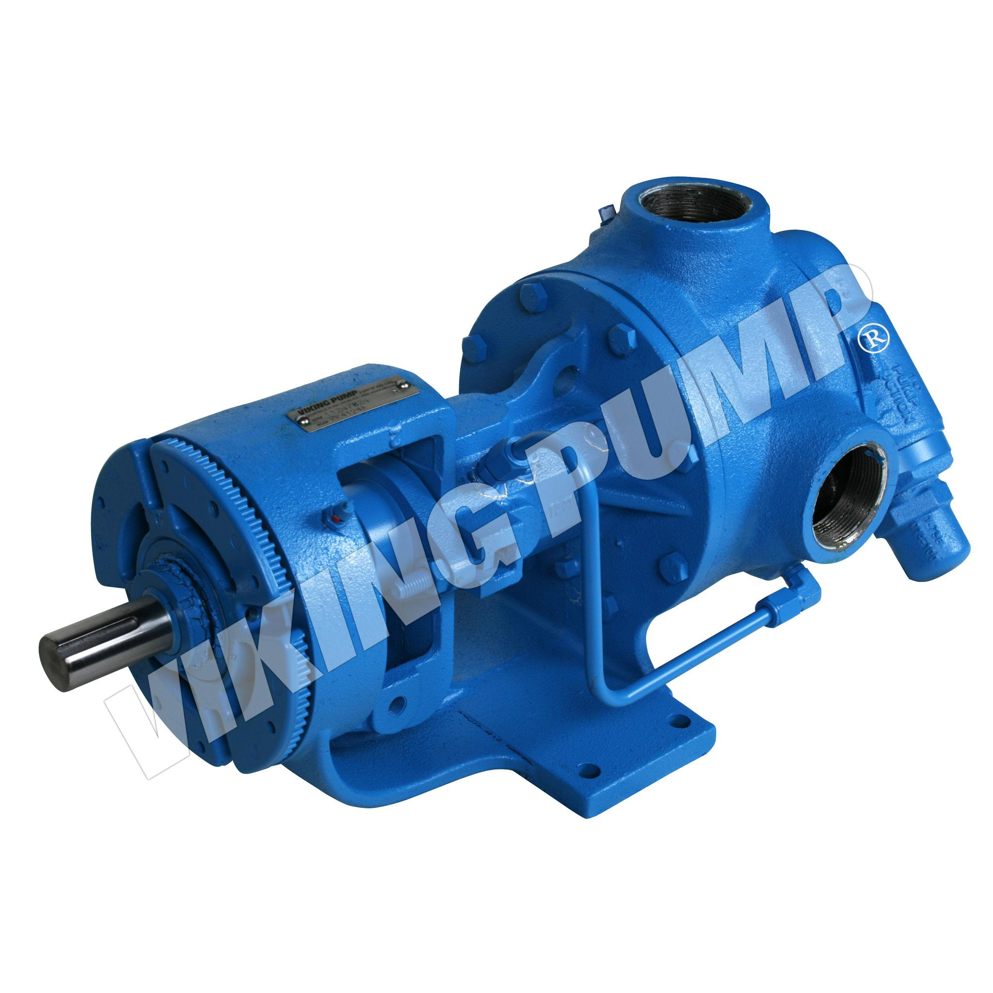 Model KK4126A, Foot Mounted, Mechanical Seal,  Relief Valve Pump