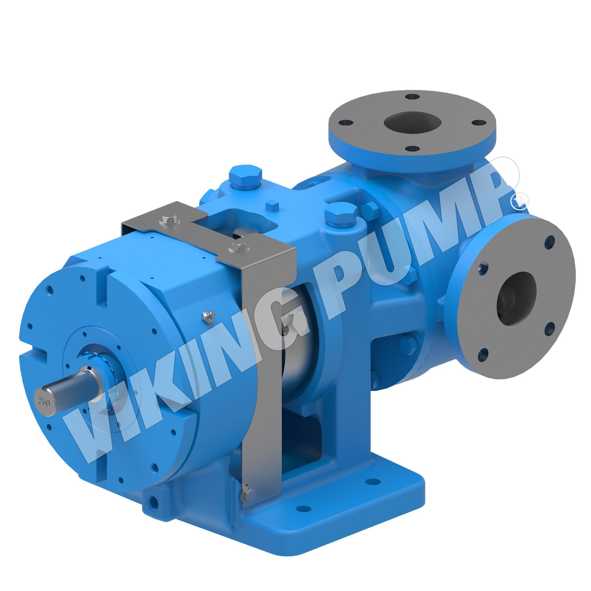 Model KK4223AA, Foot-Mounted, API 682 Seal Pump