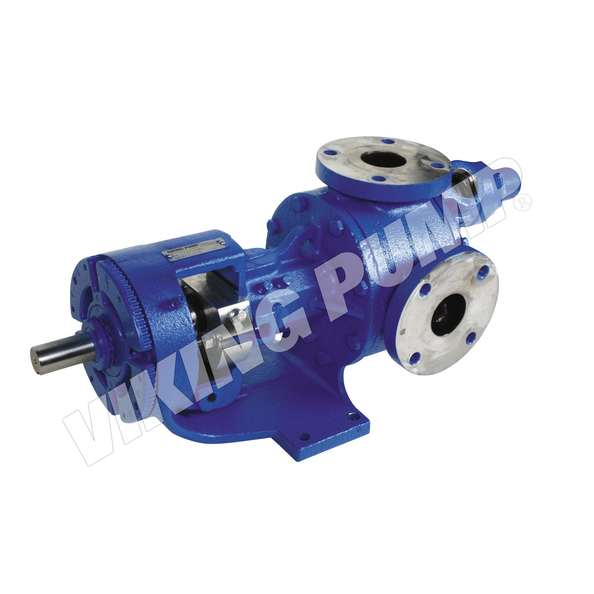 Model KK4227A, Foot Mounted, Cartridge Seal, Return-to-Tank Relief Valve Pump