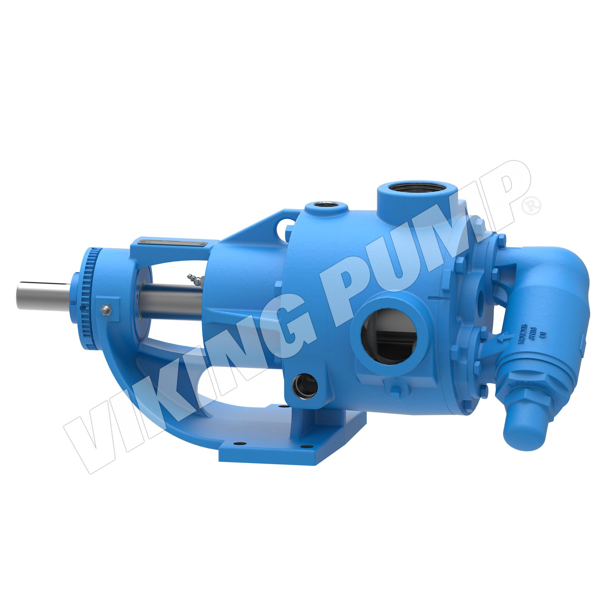 Model KK4724, Foot-Mounted, Mechanical Seal, Relief Valve Pump