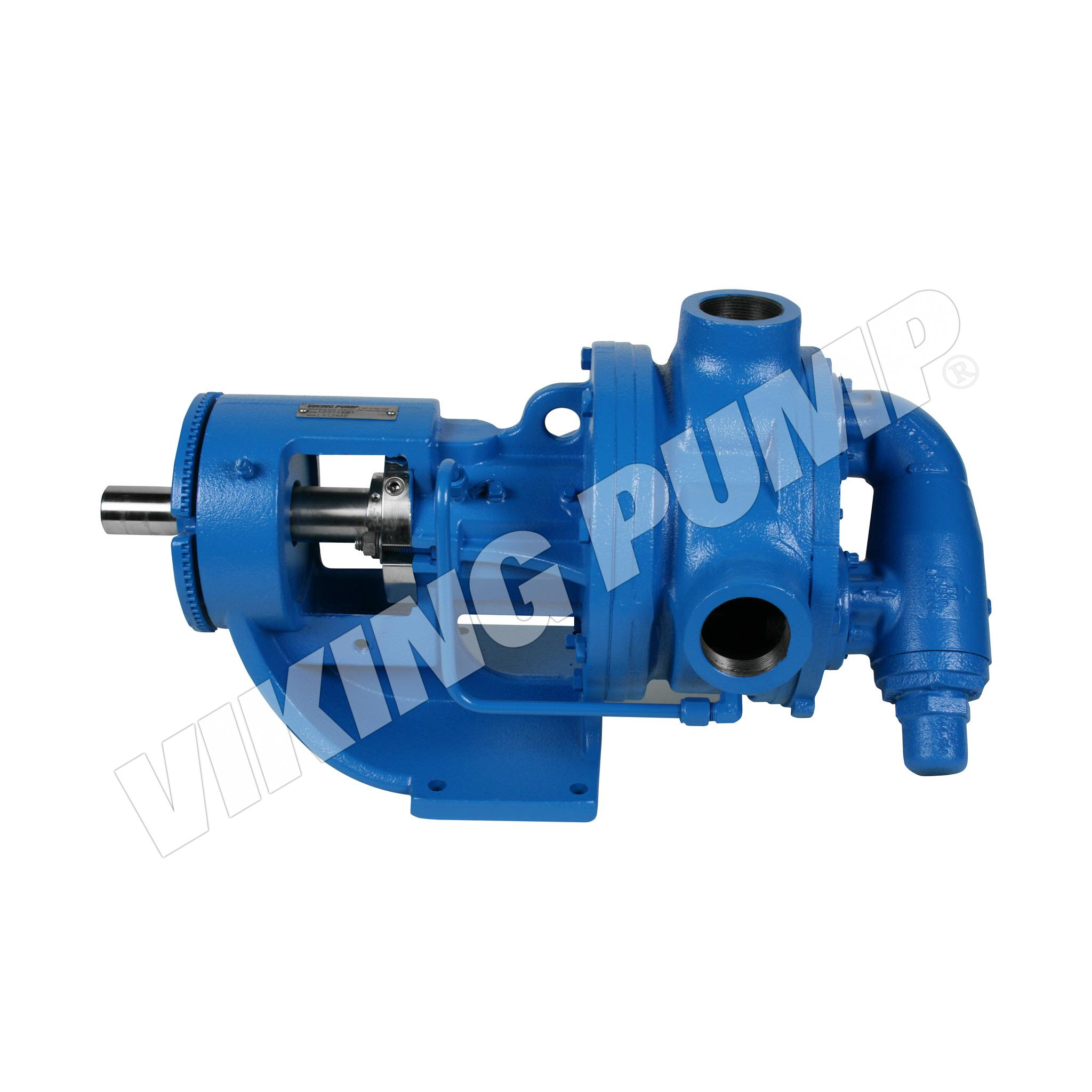 Model L4124AE, Foot Mounted,  Cartridge Seal, Relief Valve Pump