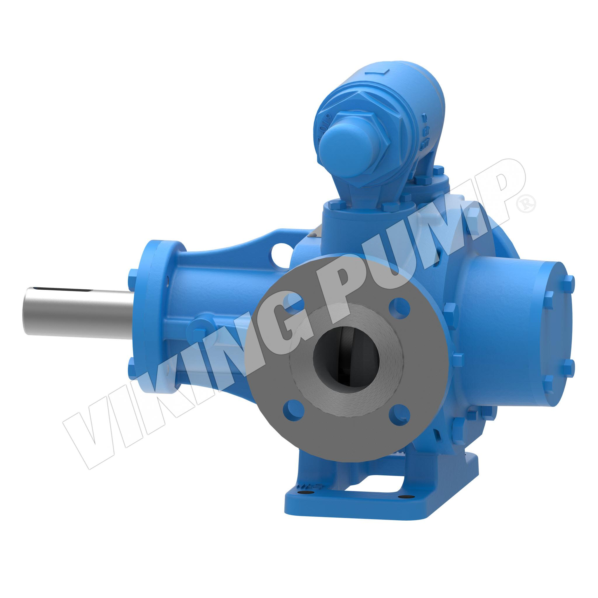 Model LVP41057U, Foot-Mounted, Mechanical Seal, Relief Valve Pump