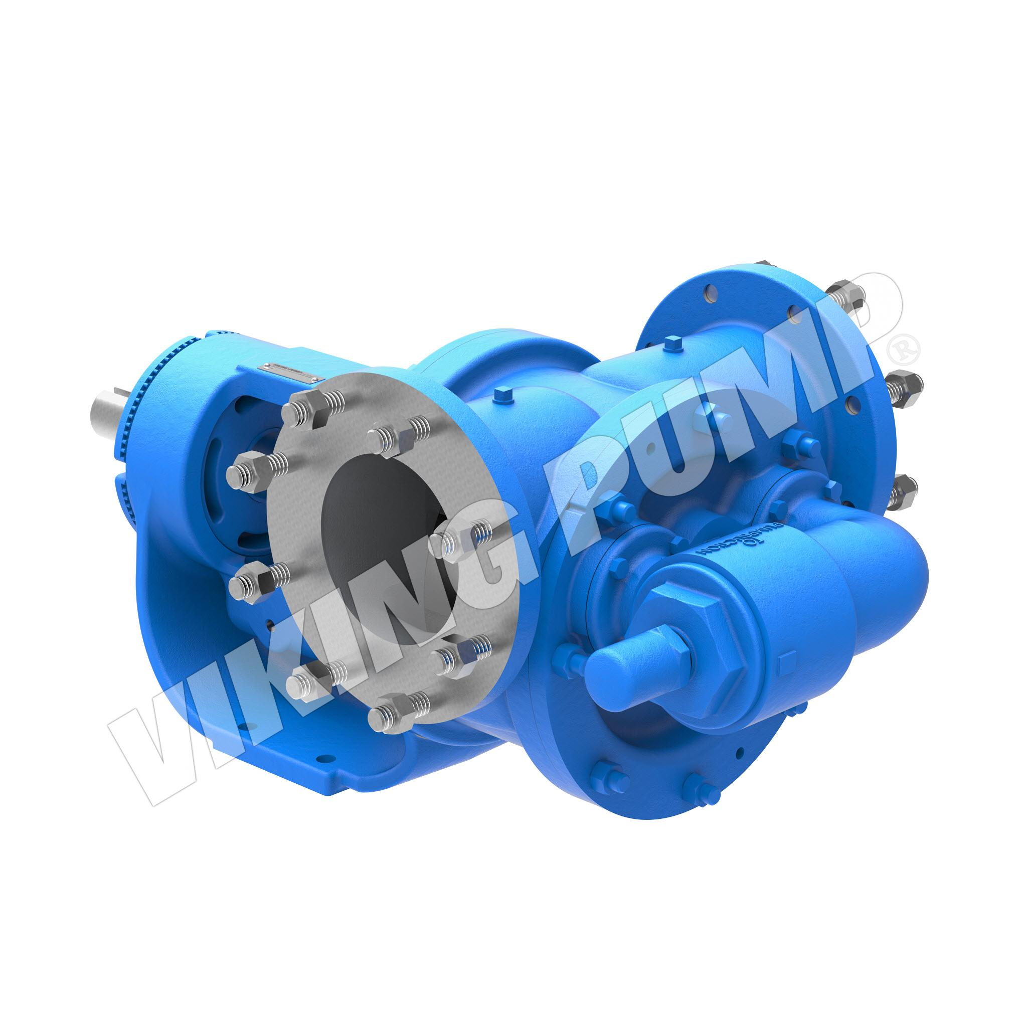 Model QS4124B, Foot Mounted, Mechanical Seal, Relief Valve Pump