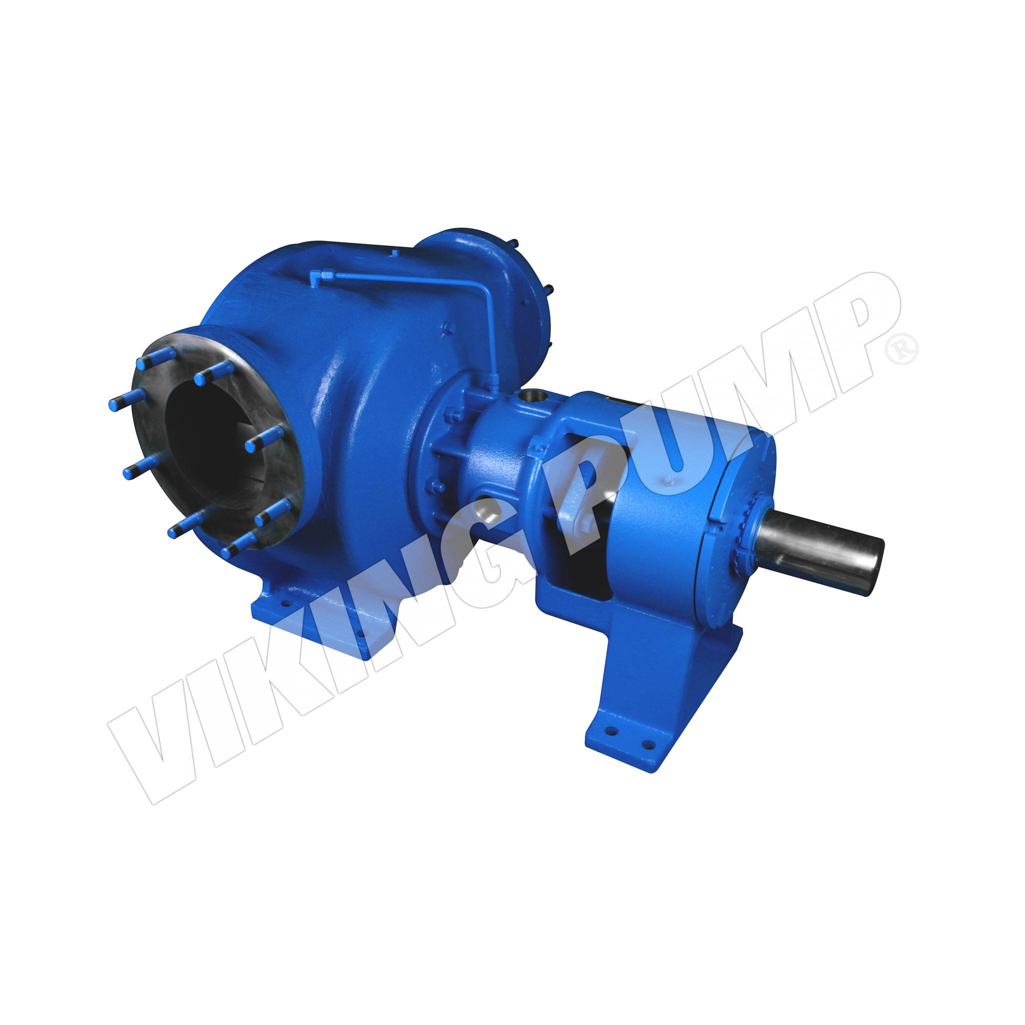 Model R324A, Foot Mounted, Packed Gland, Flange Port, less Relief Valve Pump