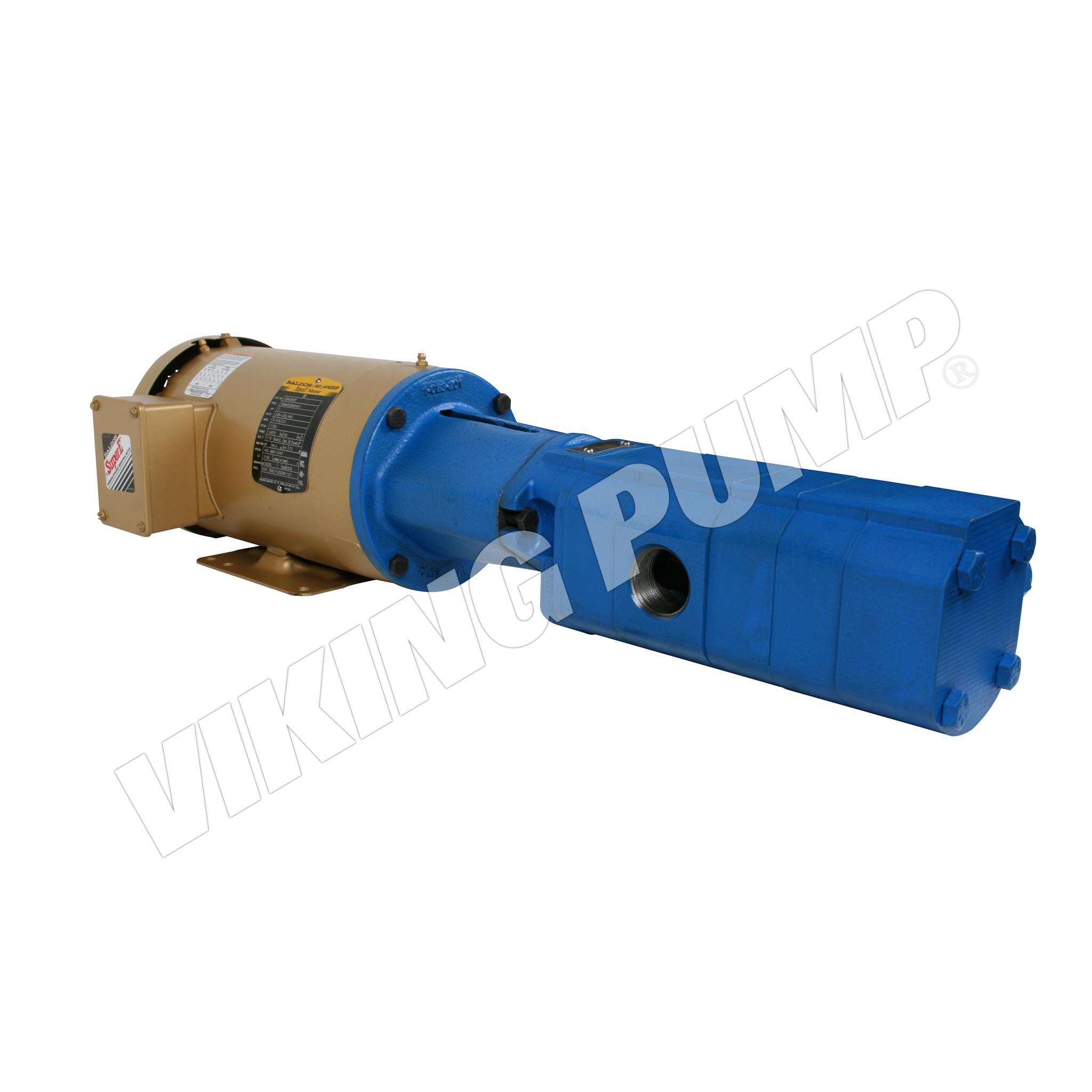 Model SG-0732, Flange Mount, Lip Seal, Relief Valve, M Drive Unit