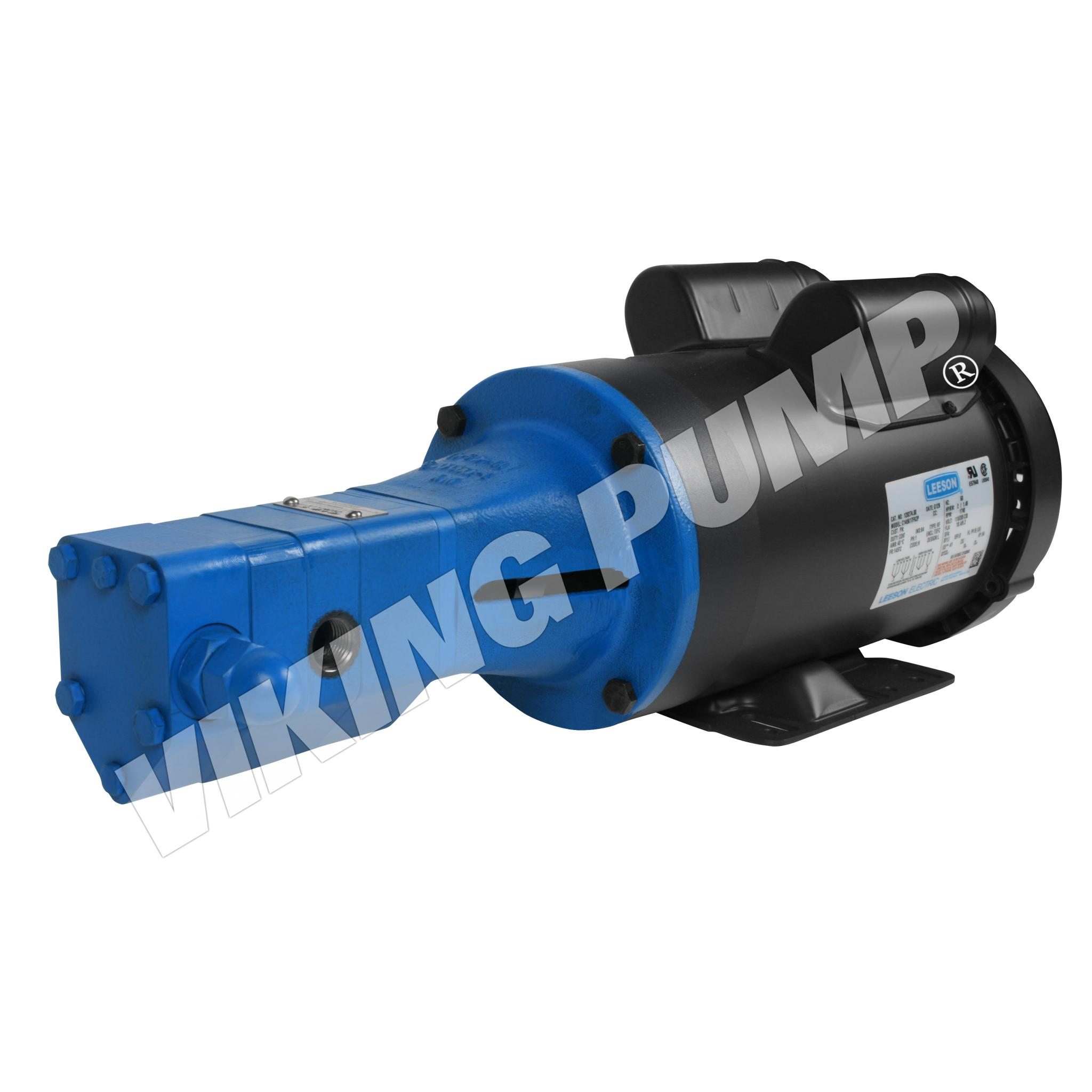 Model SG-40510, M Drive, Mechanical Seal, Relief Valve