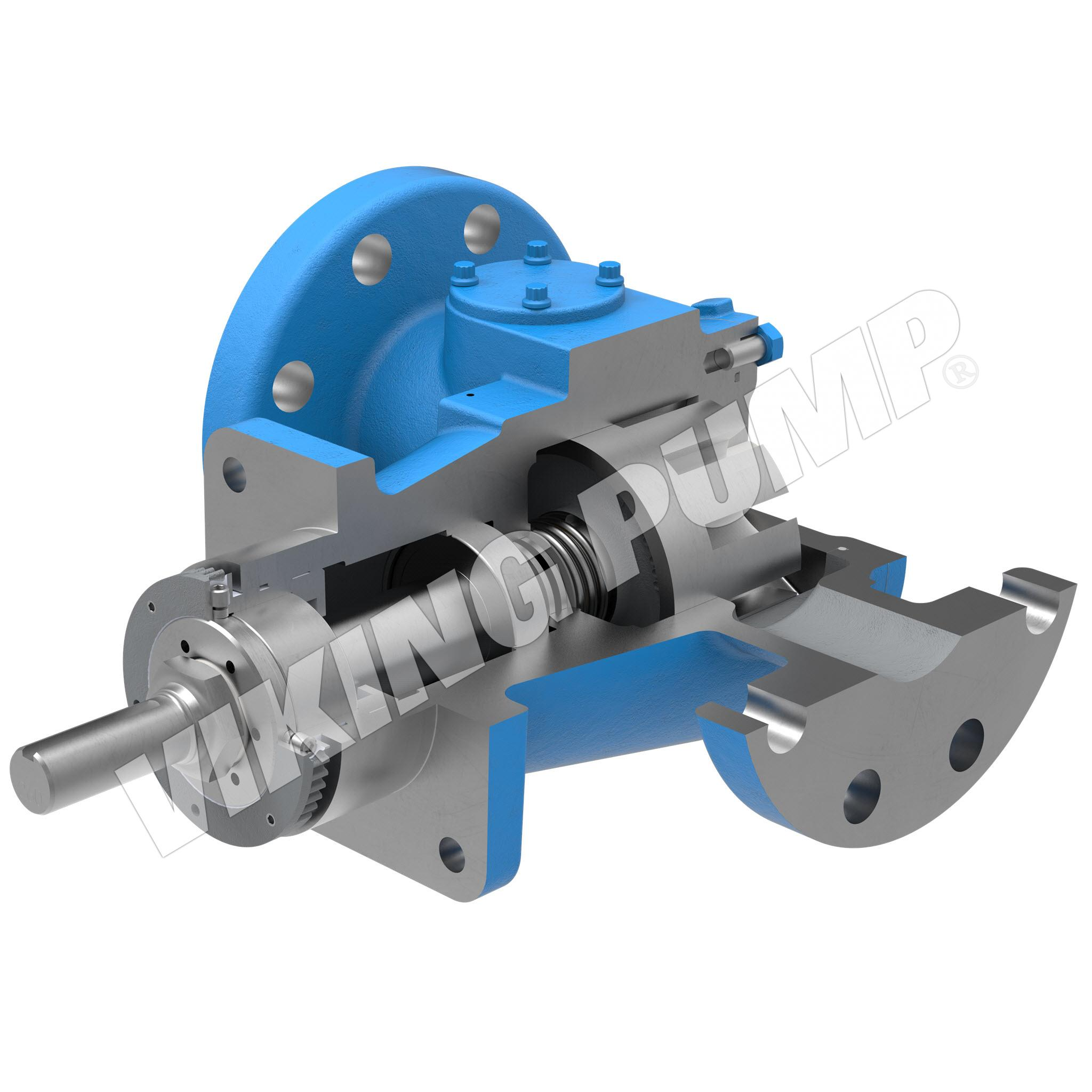 Model AL493, Unmounted, Mechanical Seal, Less Relief Valve Pump
