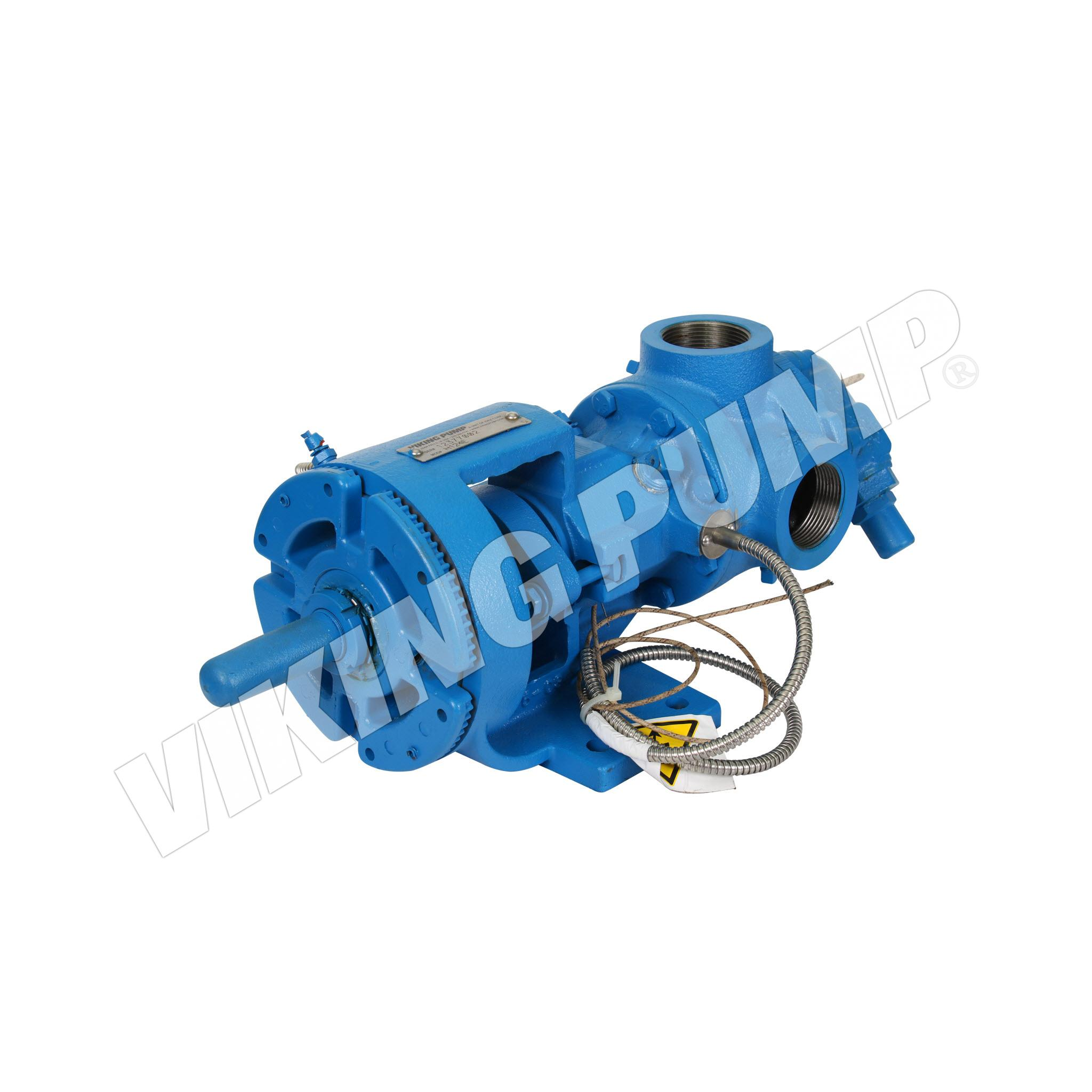 Model H124E, Foot Mounted, Electrically Heated, Packed Gland, Relief Valve Pump