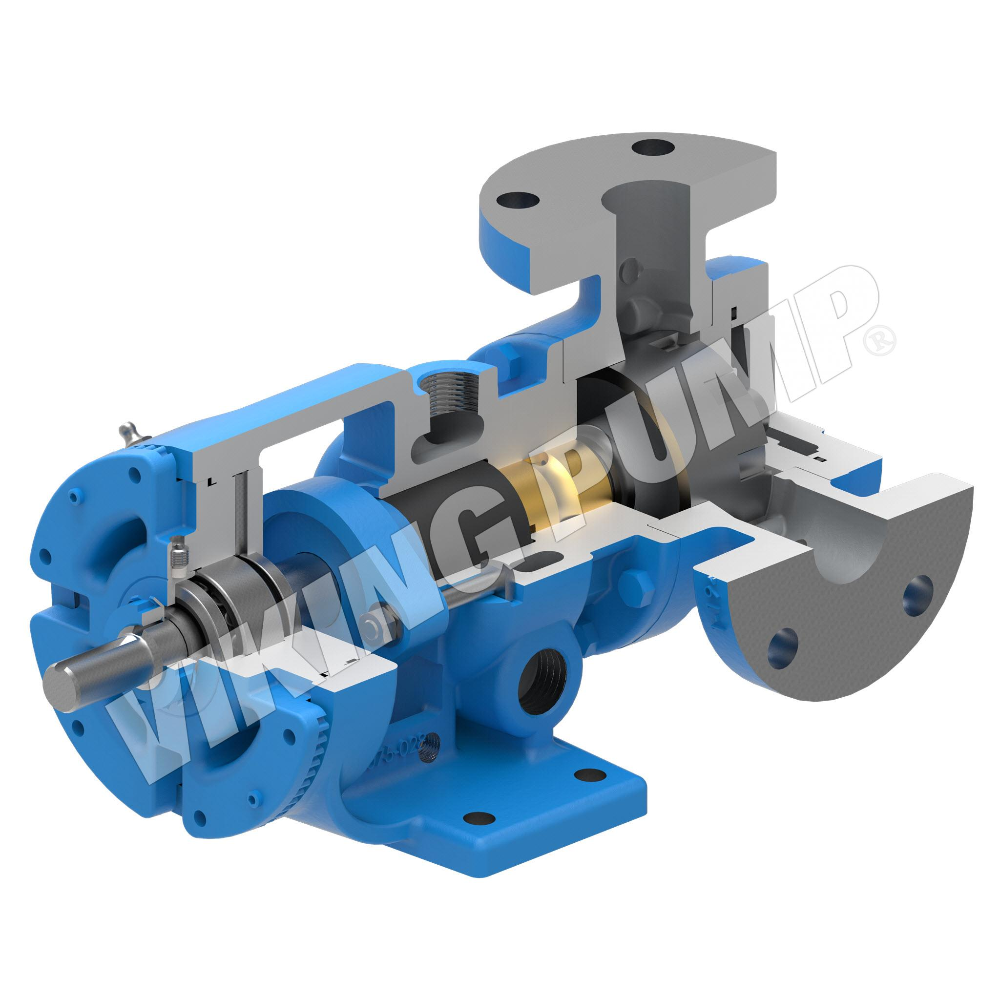 Model H223A, Foot Mounted, Packed Gland, less Relief Valve Pump