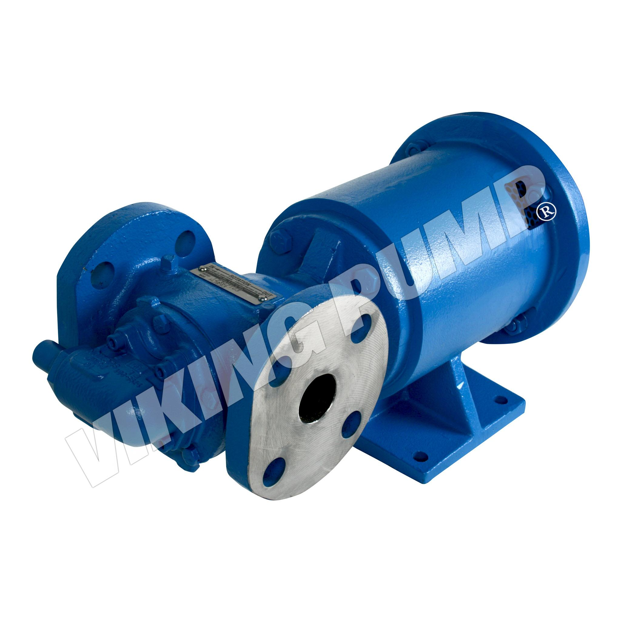 Model HJ893, Foot Mounted, Mag Drive, Relief Valve Pump with Bearing Carrier
