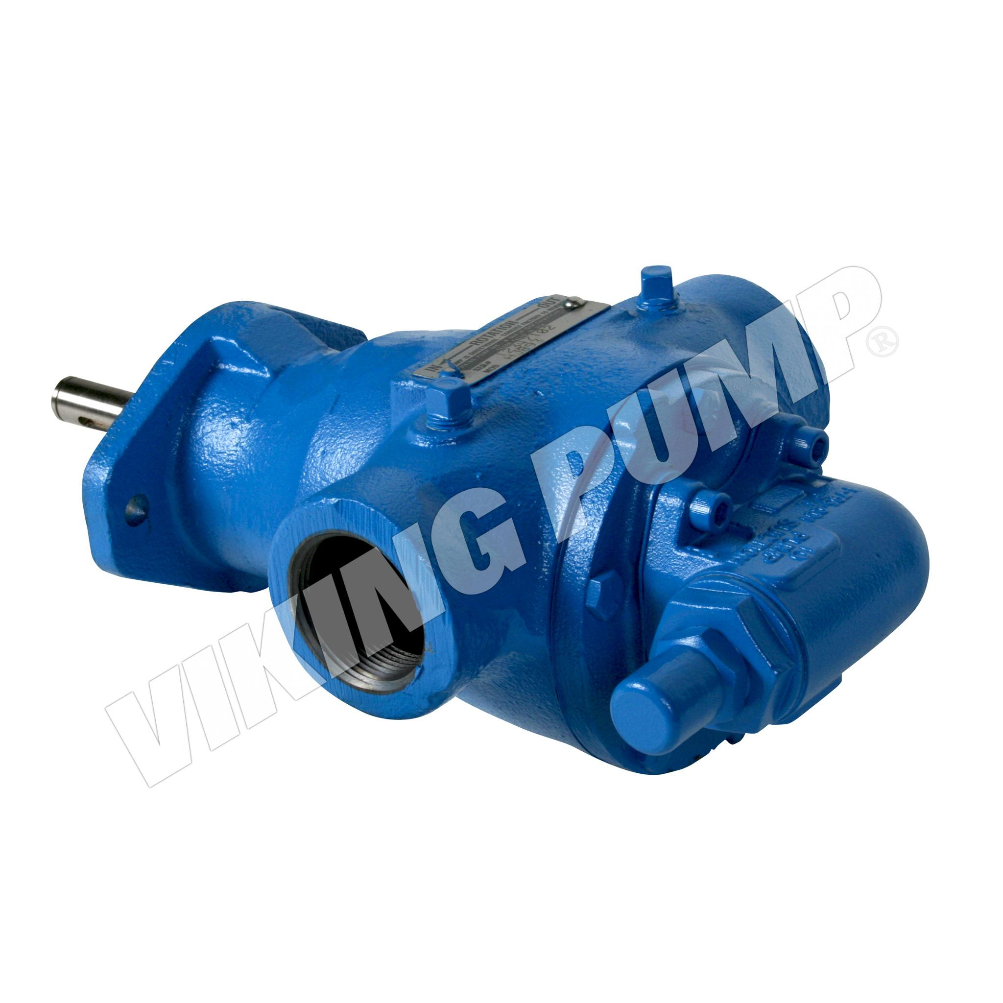 Model HJ893, Foot Mount Pump for Mag Drive, less Magnetic Coupling