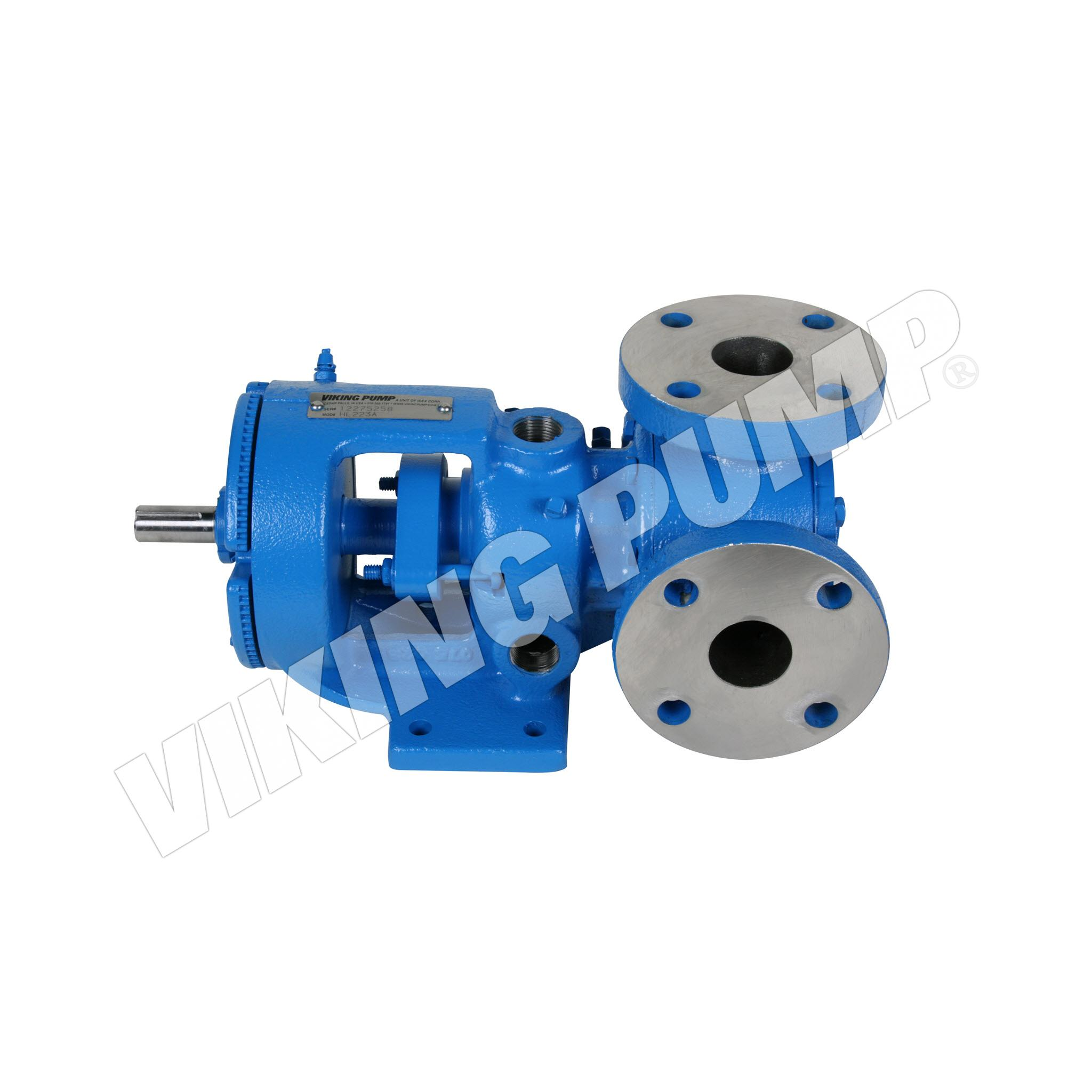 Model HL223A, Foot Mounted, Packed Gland, less Relief Valve Pump