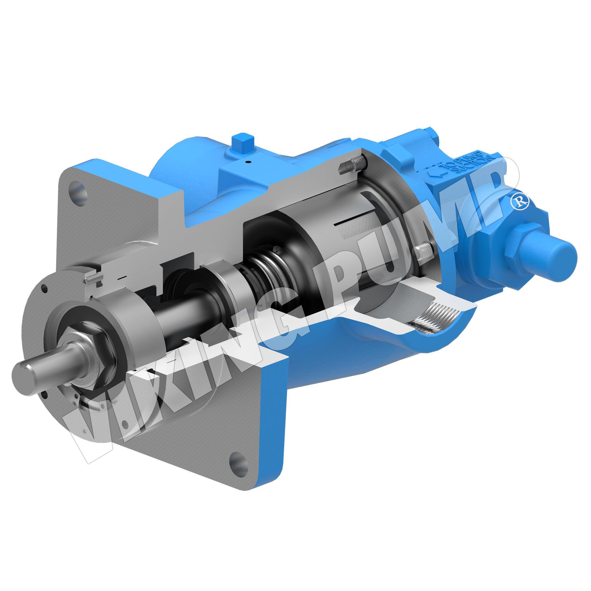 Model HL495, Unmounted, Mechanical Seal, Relief Valve Pump