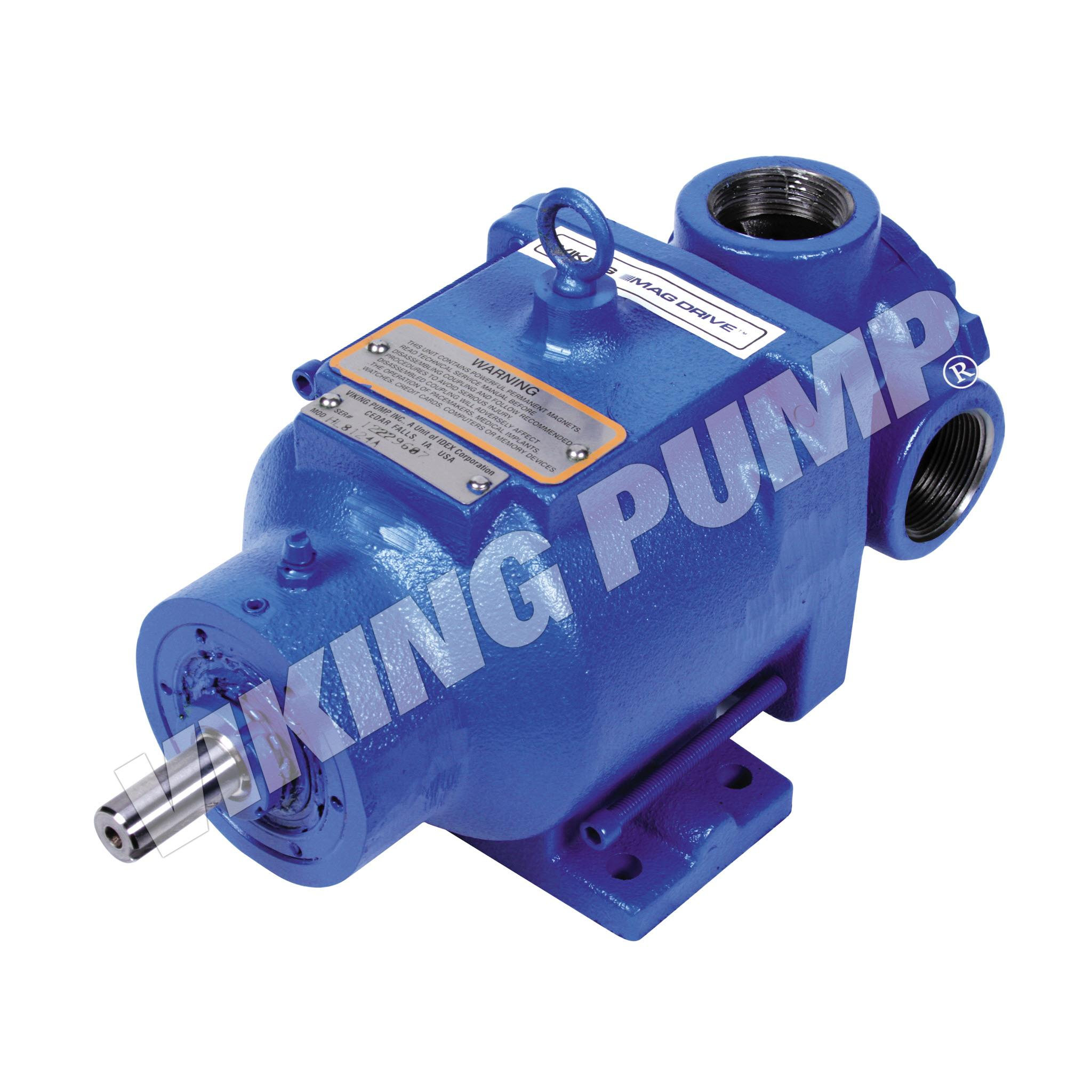 Model HL8124A, Foot Mounted, Mag Drive, Less Relief Valve Pump