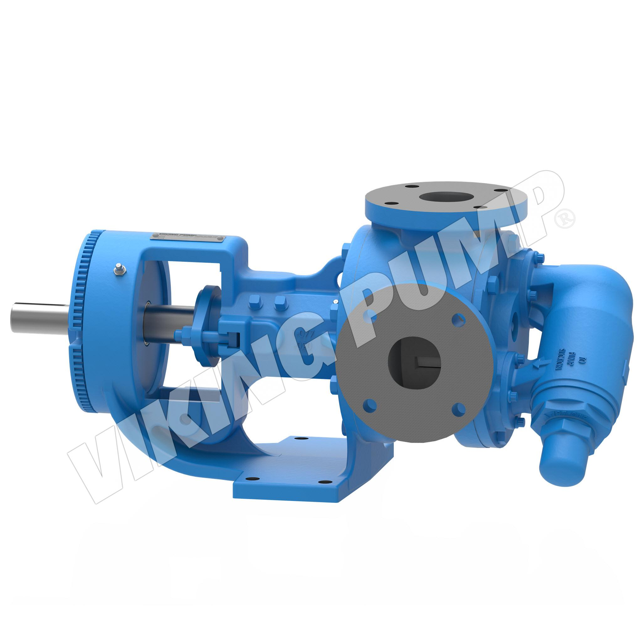 Model K123A, Foot Mounted, Packed Gland, Relief Valve Pump