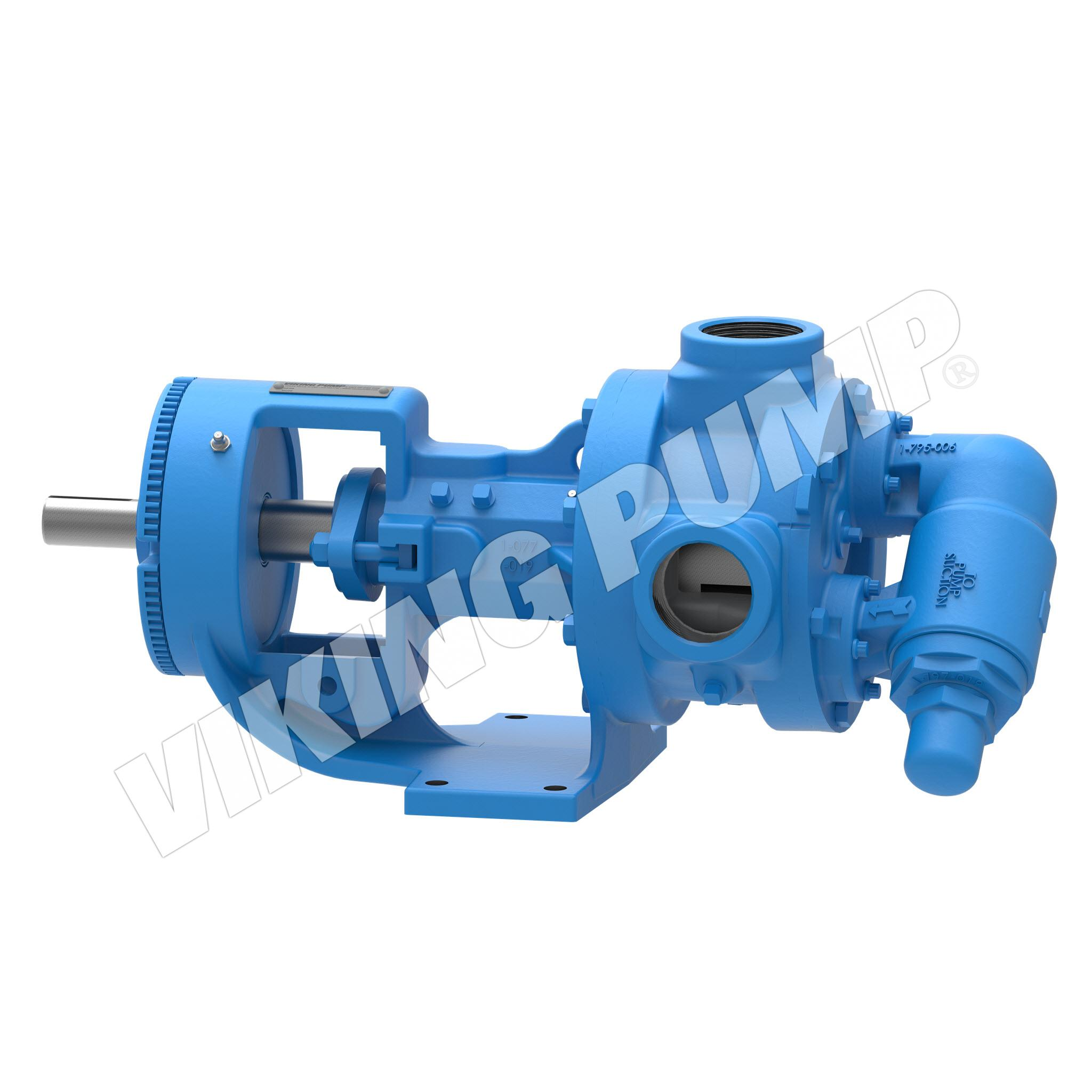 Model K124A, Foot Mounted, Packed Gland, Relief Valve Pump