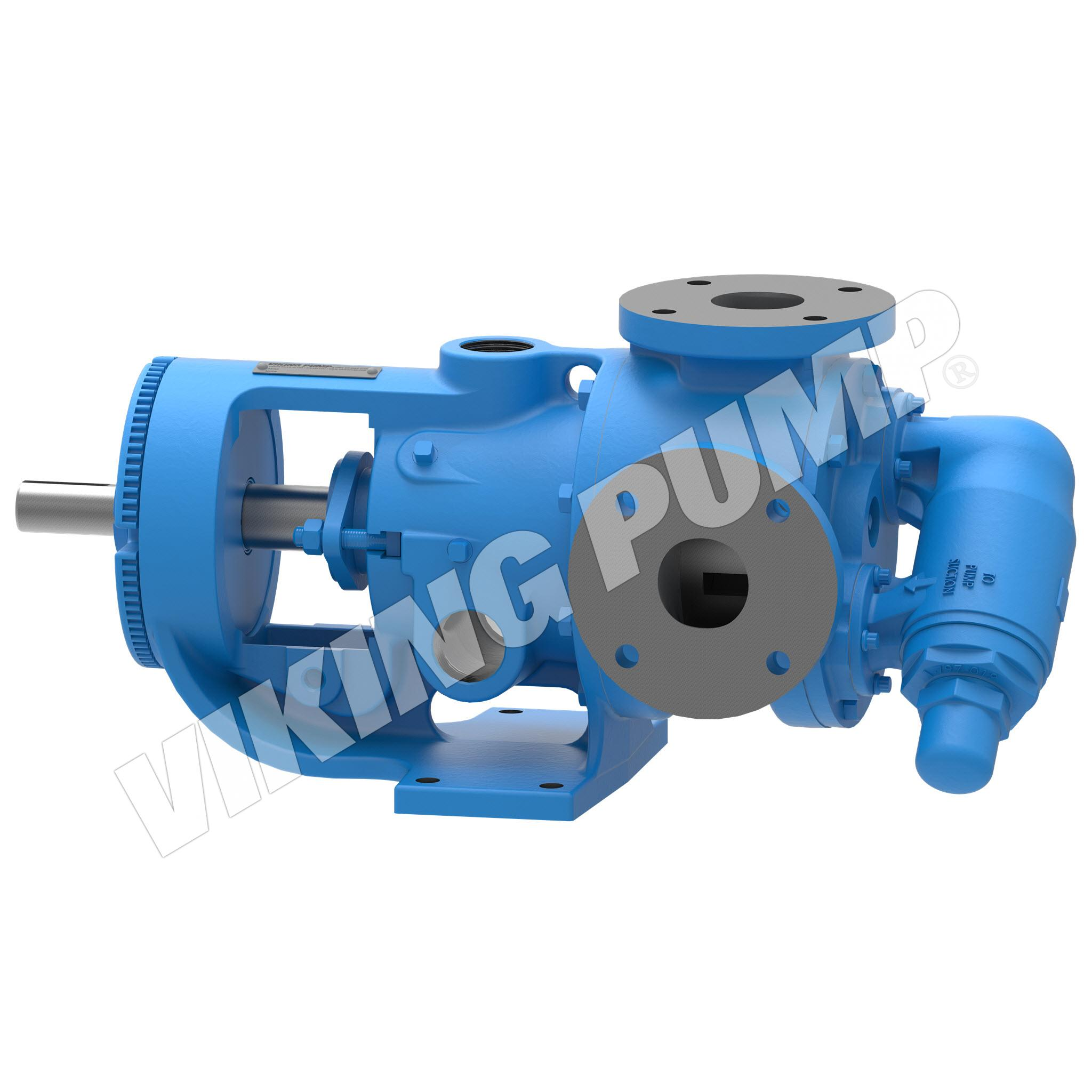 Model K223A, Foot Mounted, Packed Gland Pump w/Optional Relief Valve