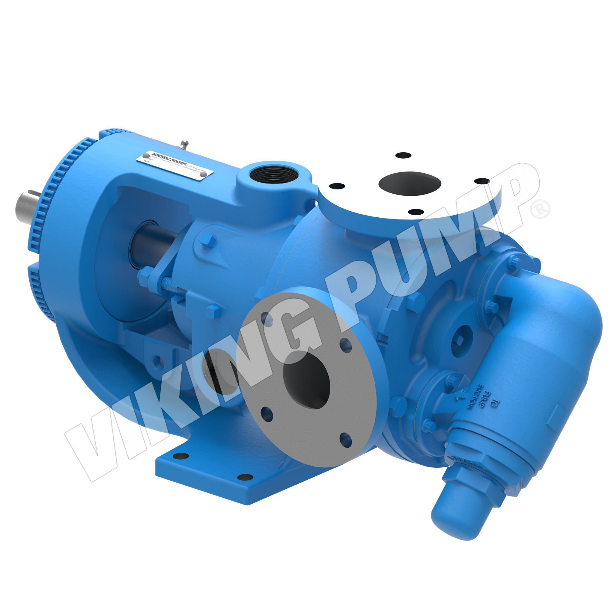Model K4224A, Foot Mounted, Mechanical Seal Pump w/Optional Relief Valve
