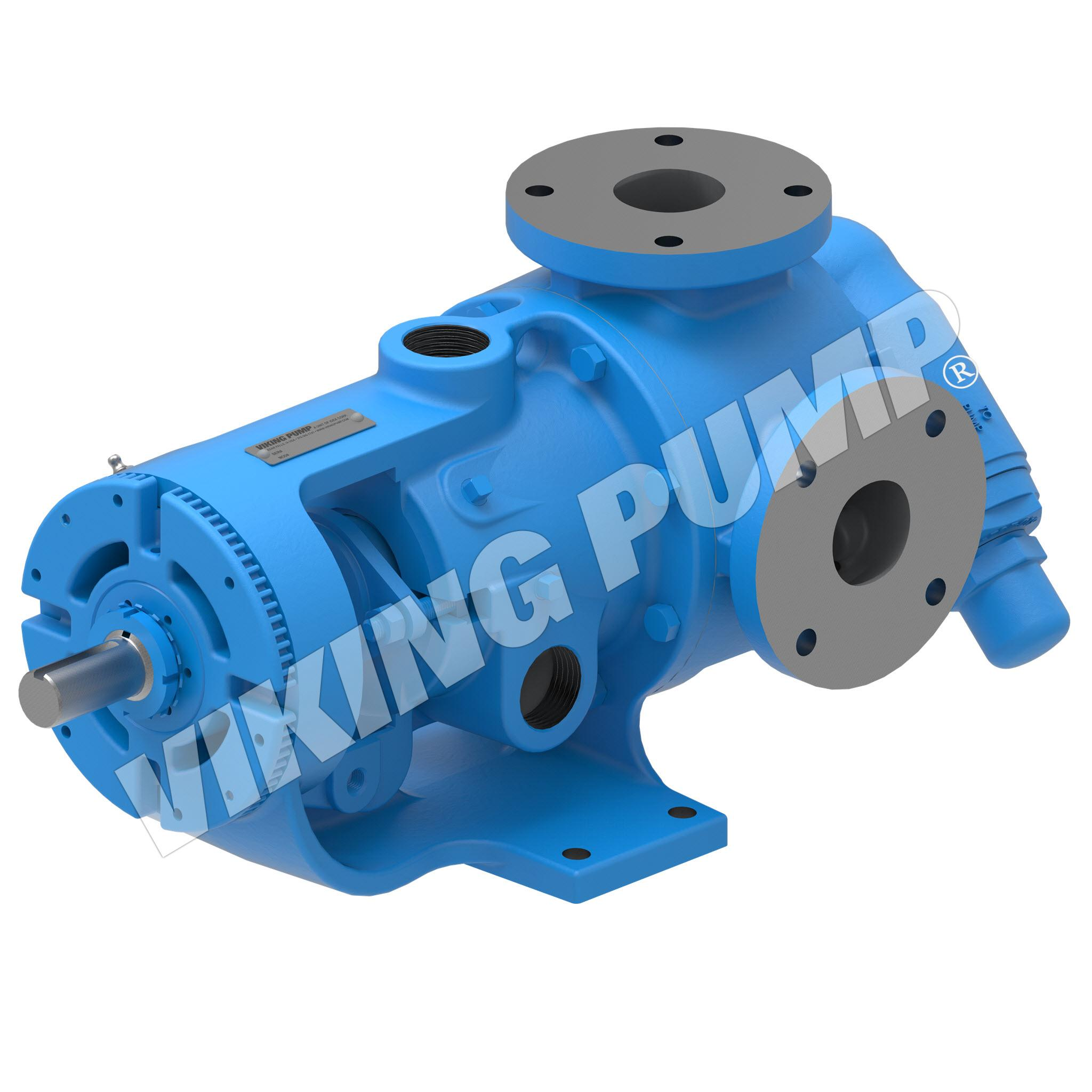 Model K227A, Foot Mounted, Packed Gland Pump w/Optional Relief Valve