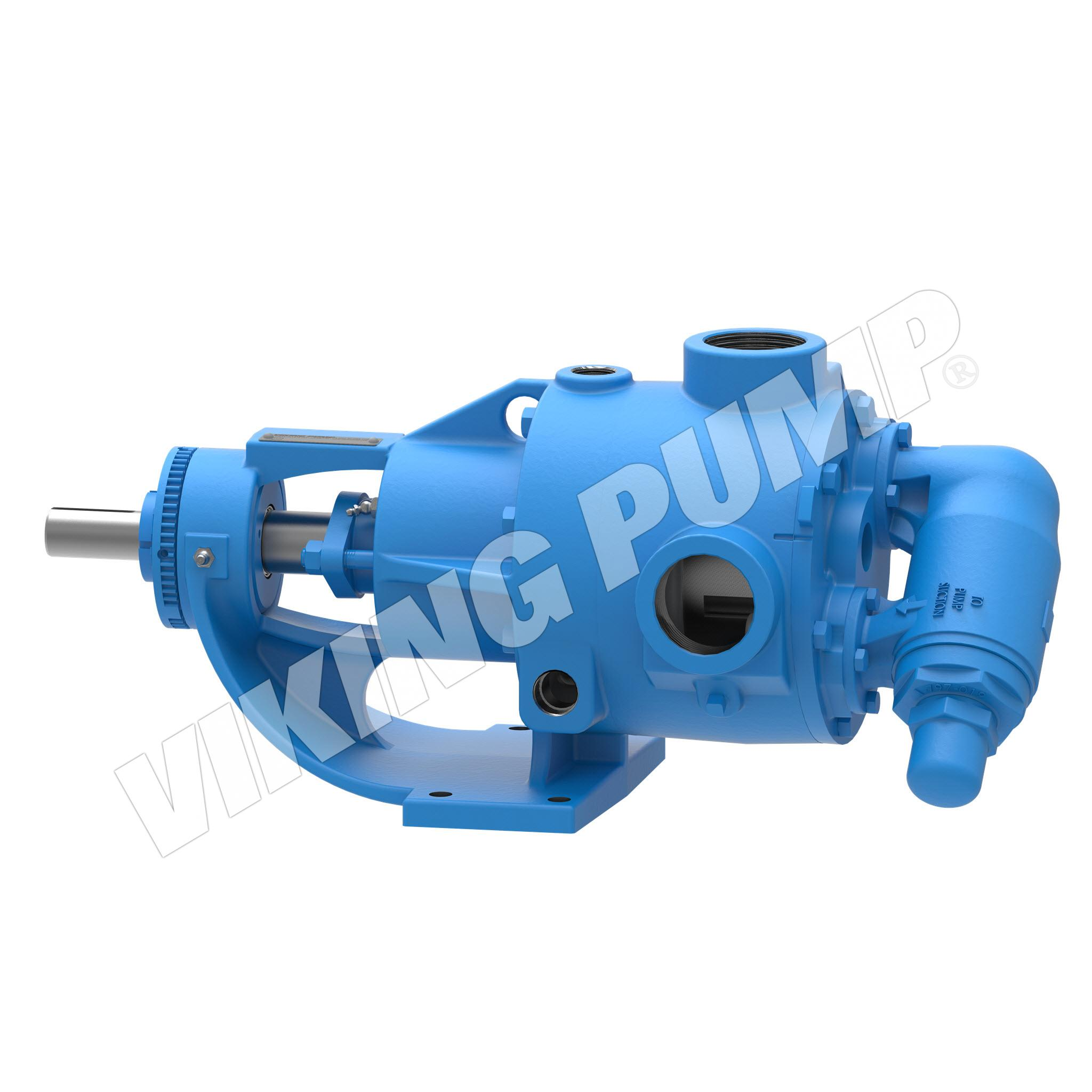 Model K724, Foot-Mounted, Packed Gland, Relief Valve Pump