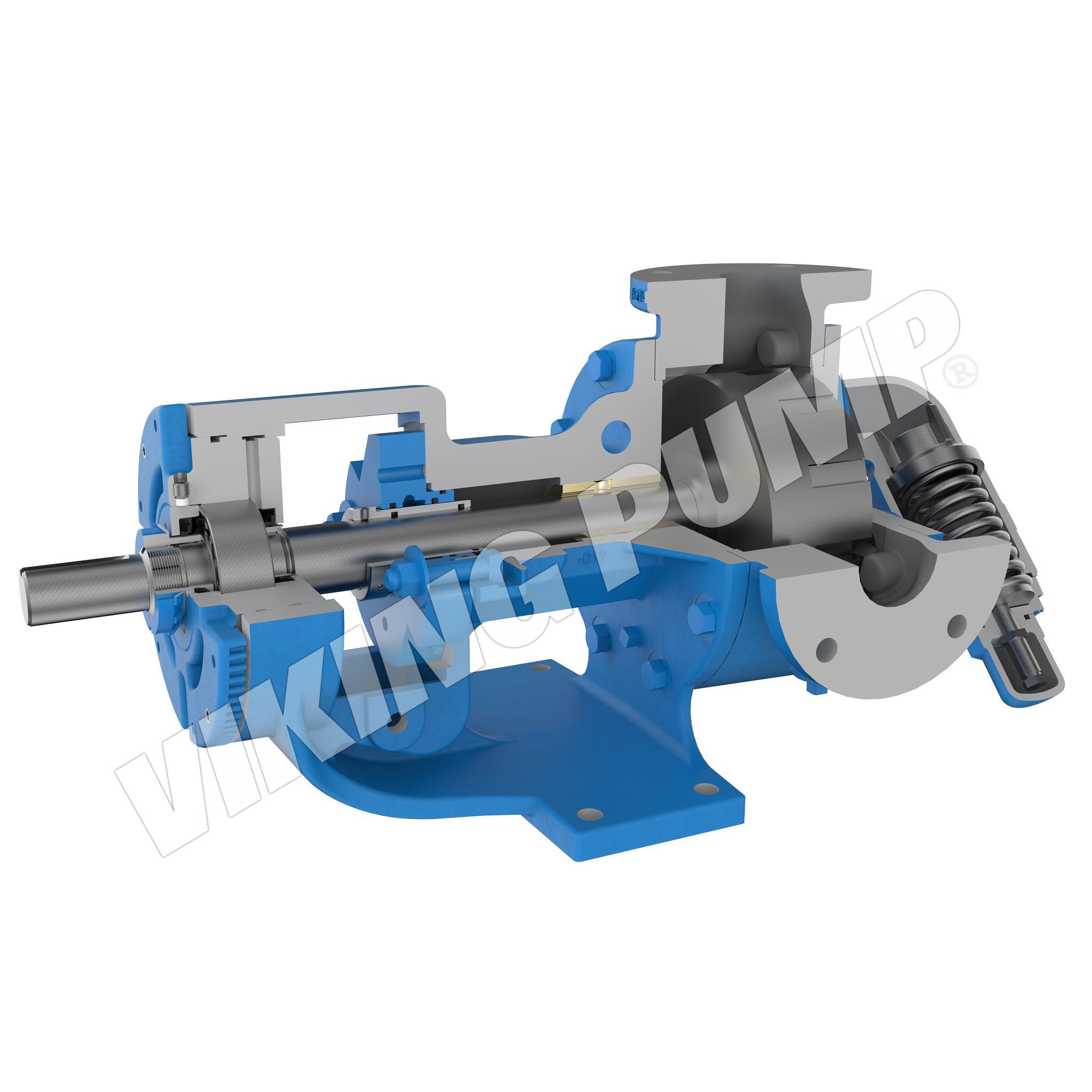 Model KK1127A, O-Pro™ Guard Seal, Relief Valve Pump