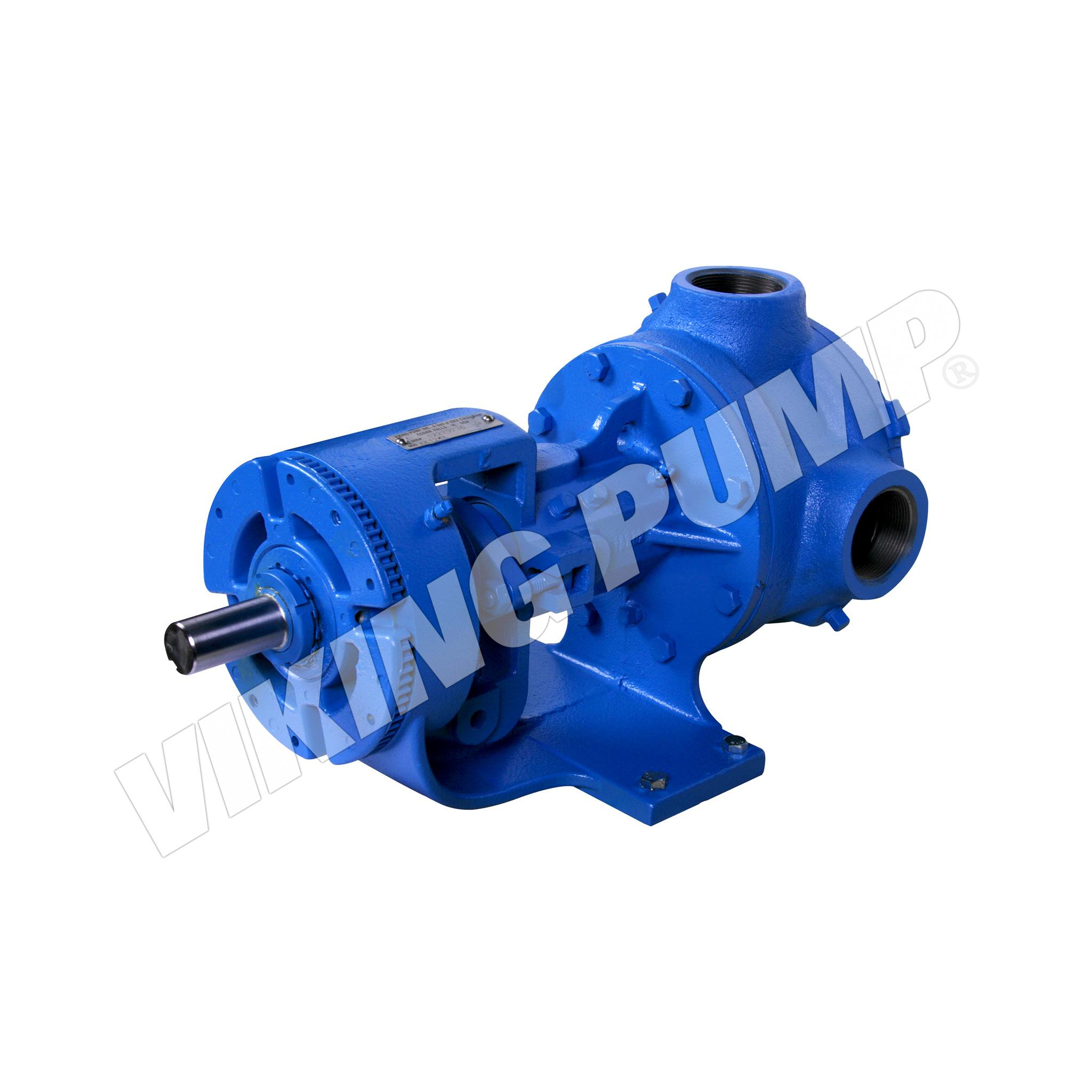 Model KK126A, Foot Mounted, Packed Gland, less Relief Valve Pump