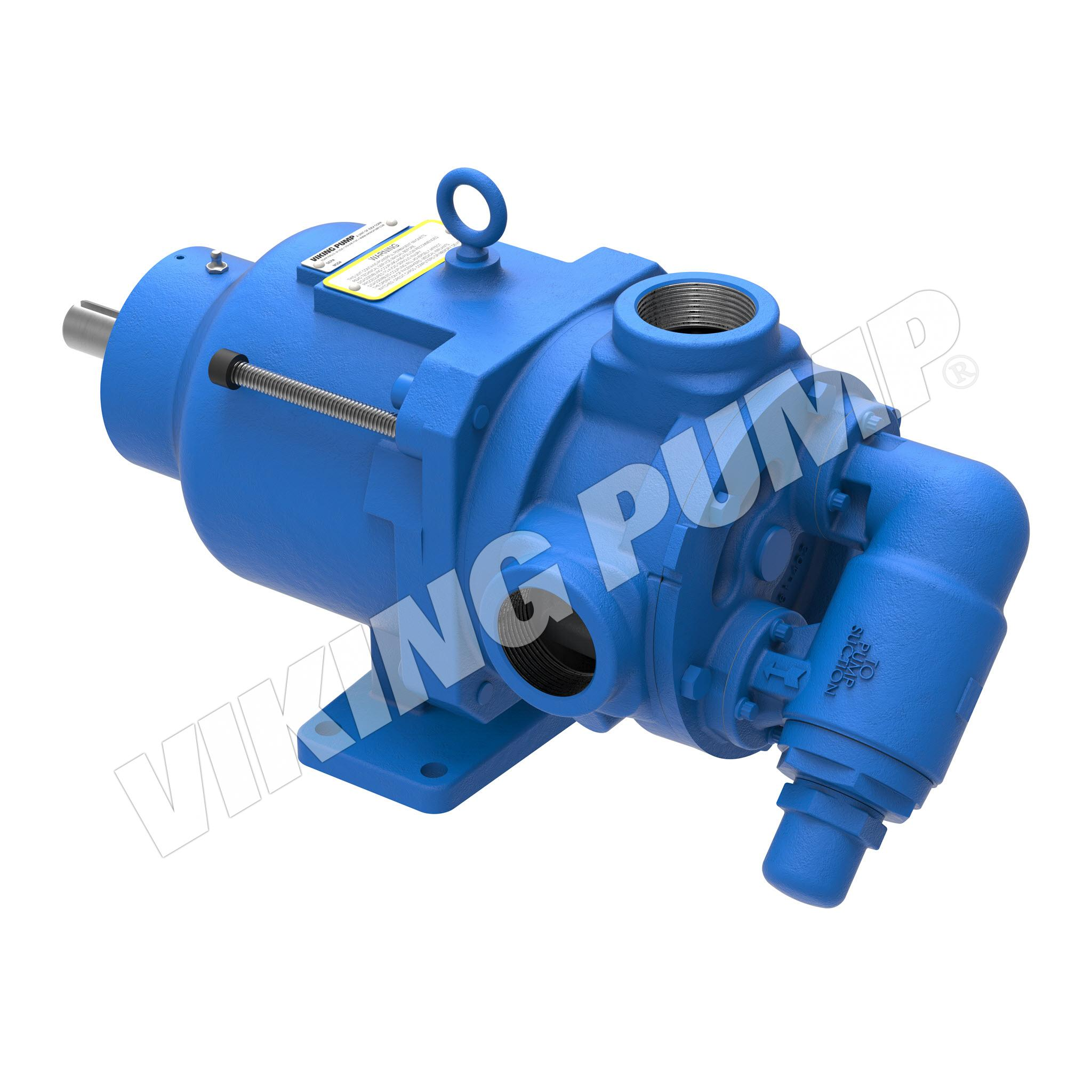 Model KK8124A, Foot Mounted, Mag Drive, Relief Valve Pump