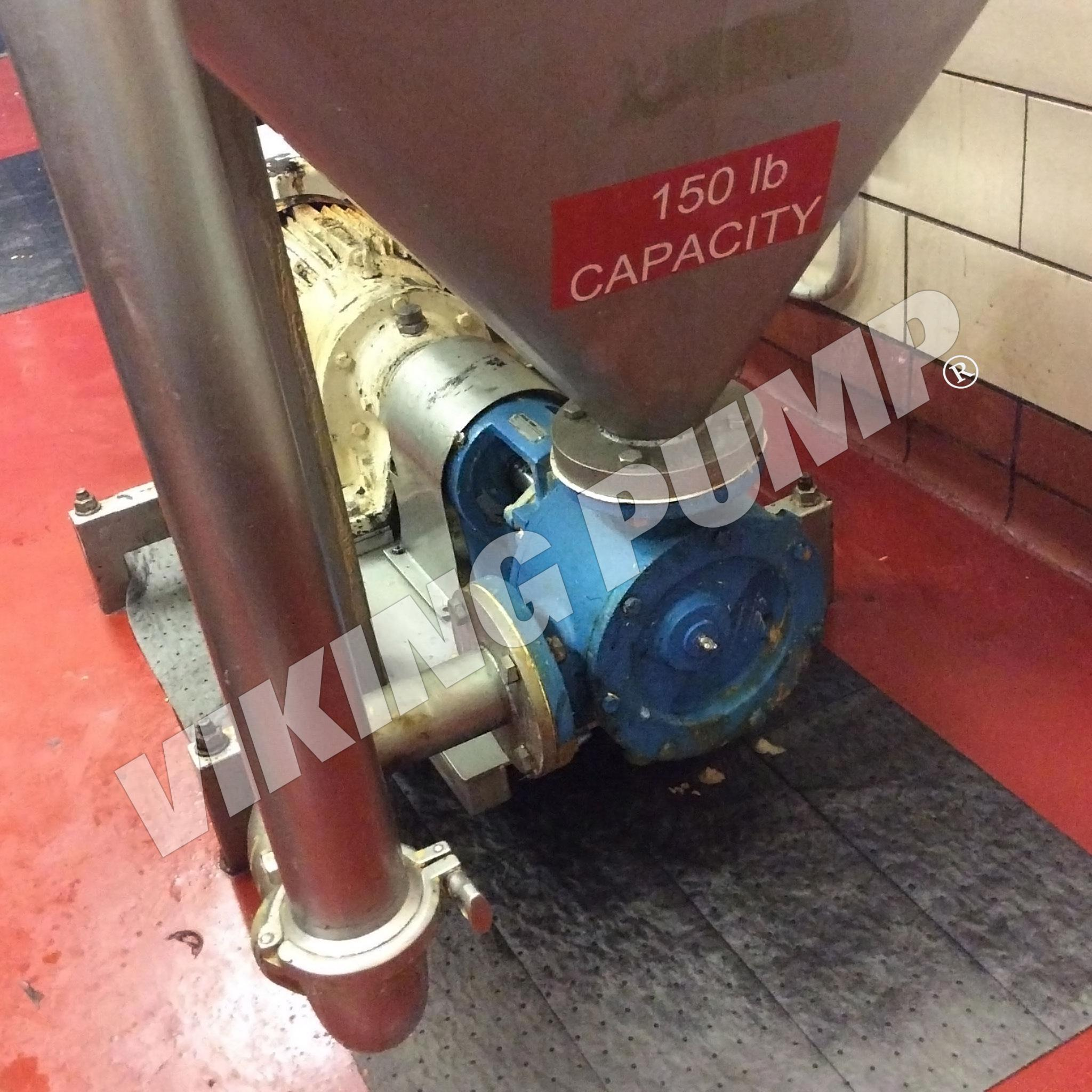 Model LL124A, Pumping Peanut Butter, Installed approx 2015