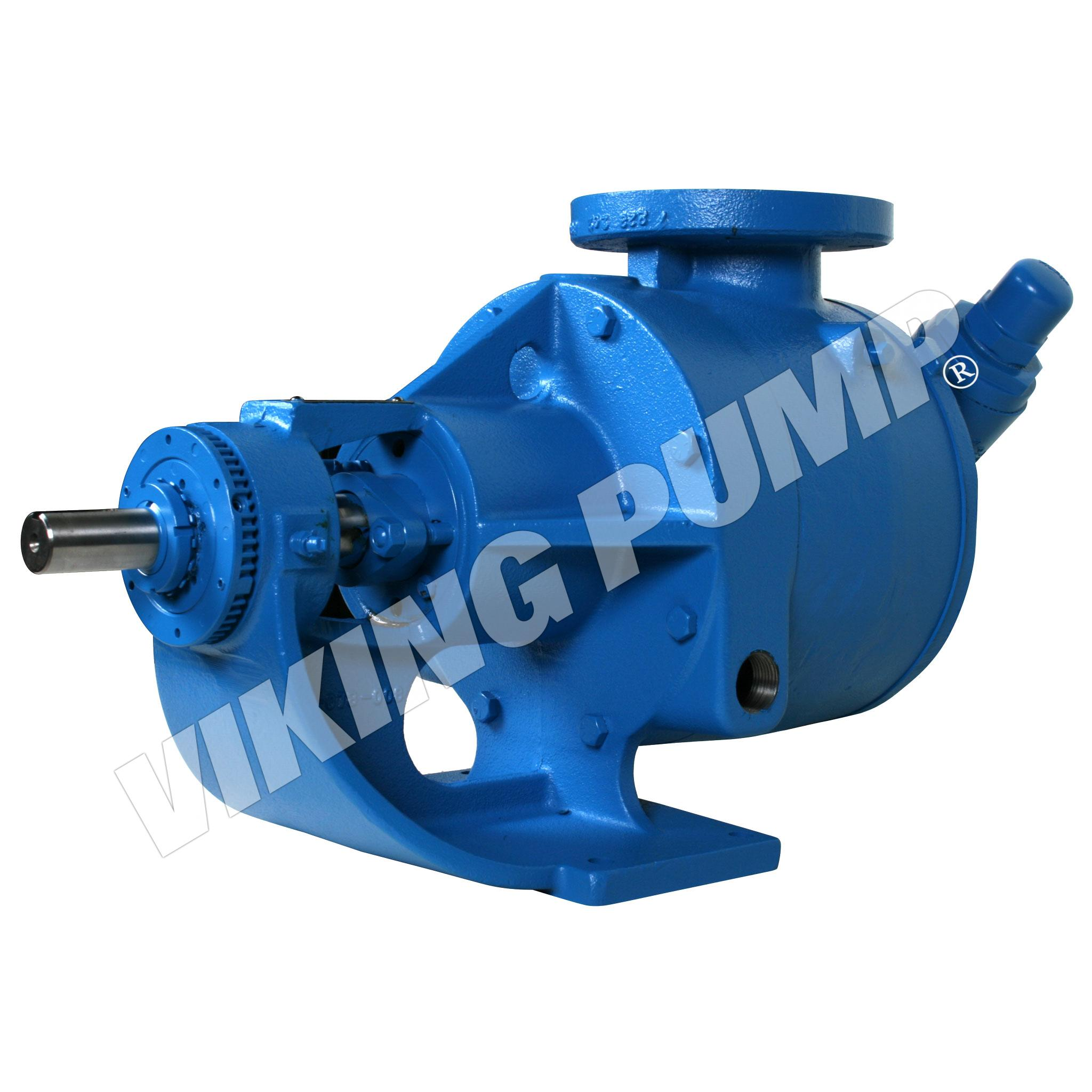 Model LL724, Foot Mounted, Packed Gland, Relief Valve Pump