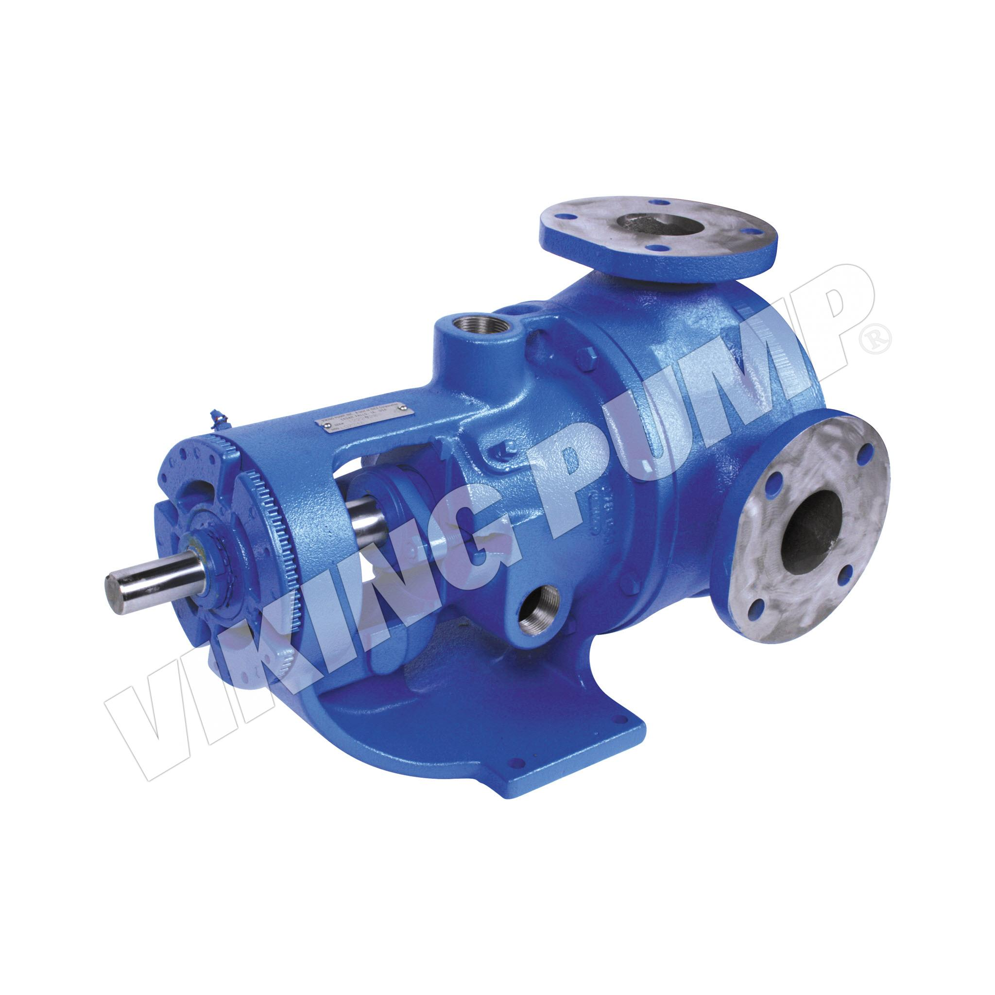 Model LQ224AE, Foot Mounted, Packed Gland, less Relief Valve, Flange Port Pump