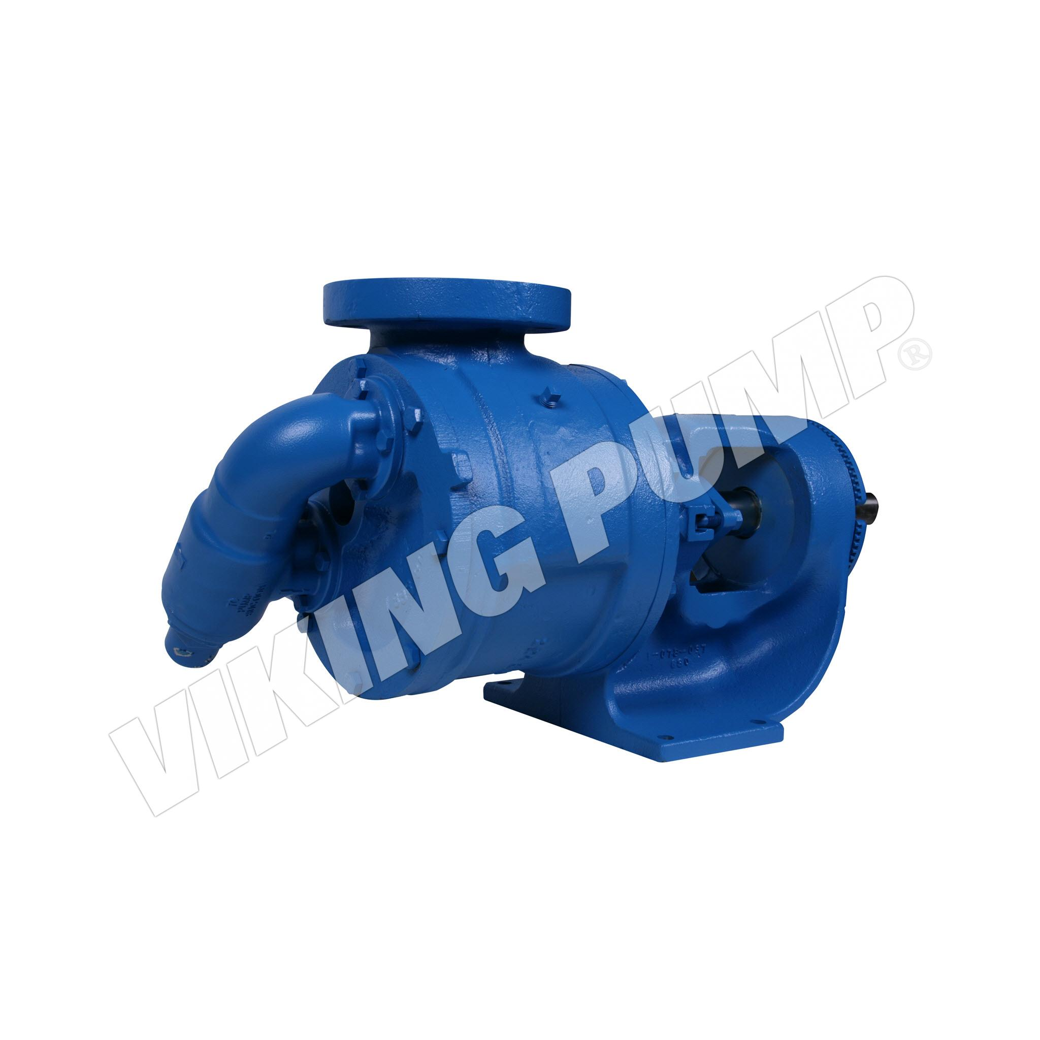 Model LS127A, Foot Mounted, Packed Gland, Relief Valve Pump