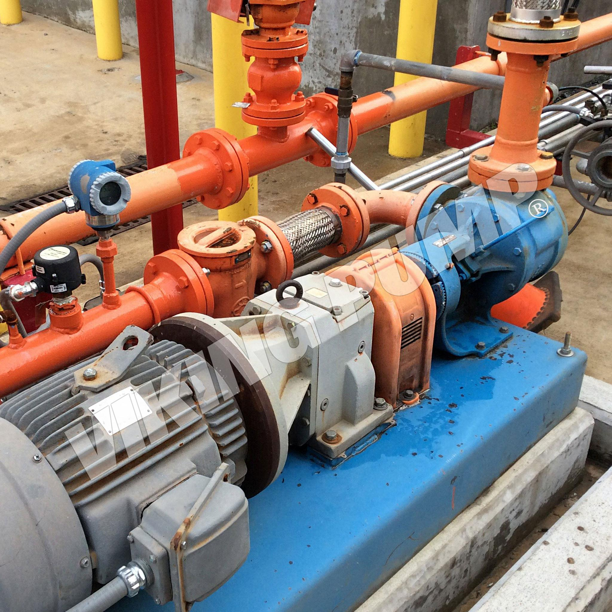 Model LS4124A, Pumping Lube Oil, Installed approx 2006